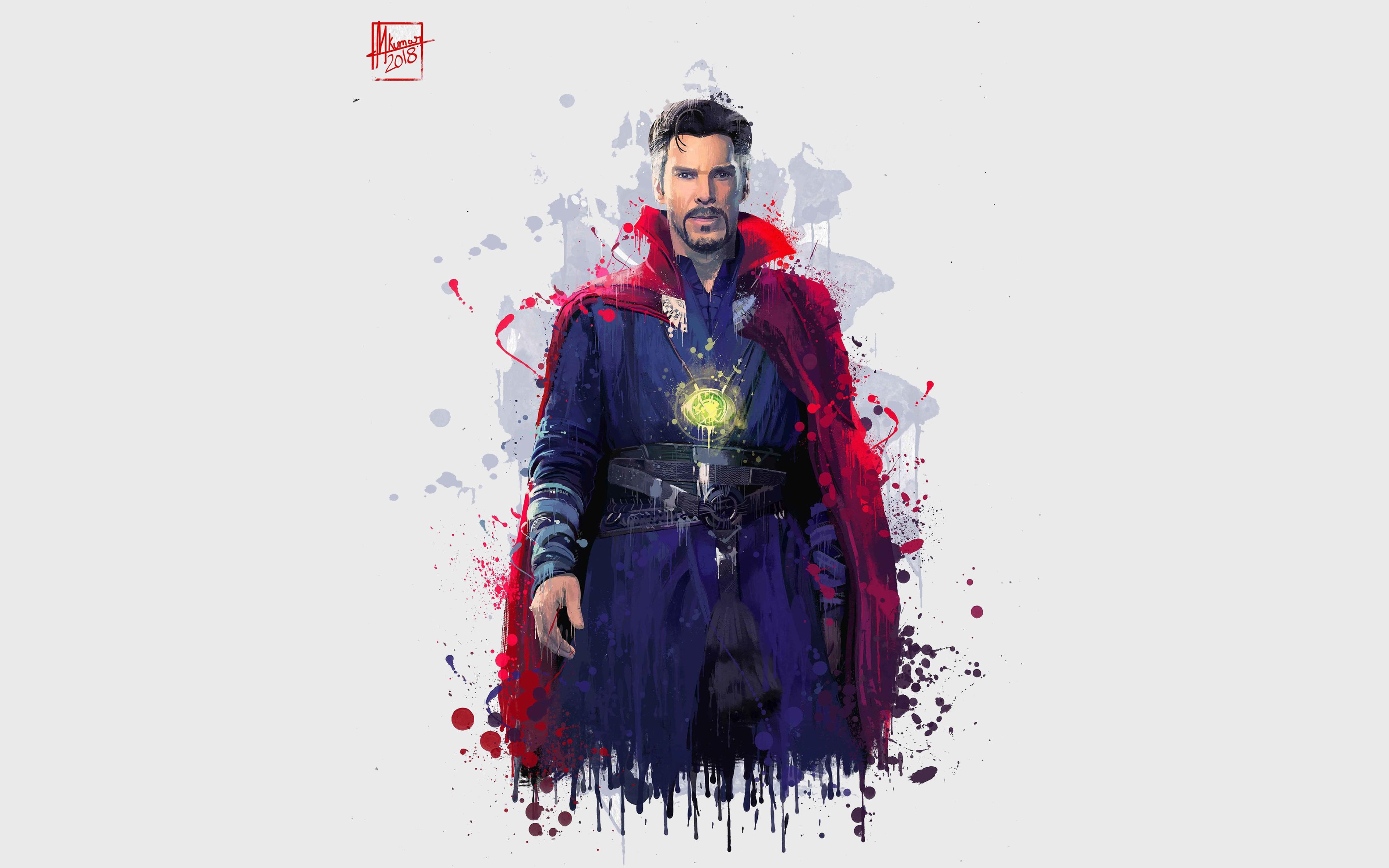 3840x2400 Doctor Strange In Avengers Infinity War 2018 4k ...