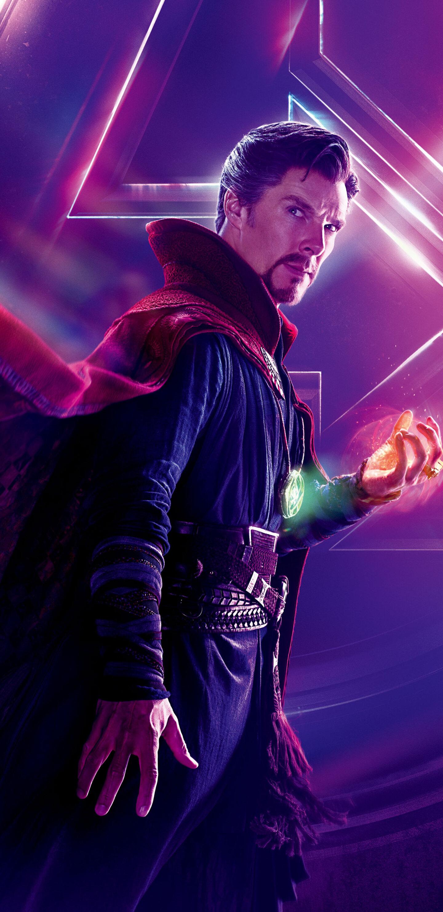 1440x2960 Doctor Strange In Avengers Infinity War 8k