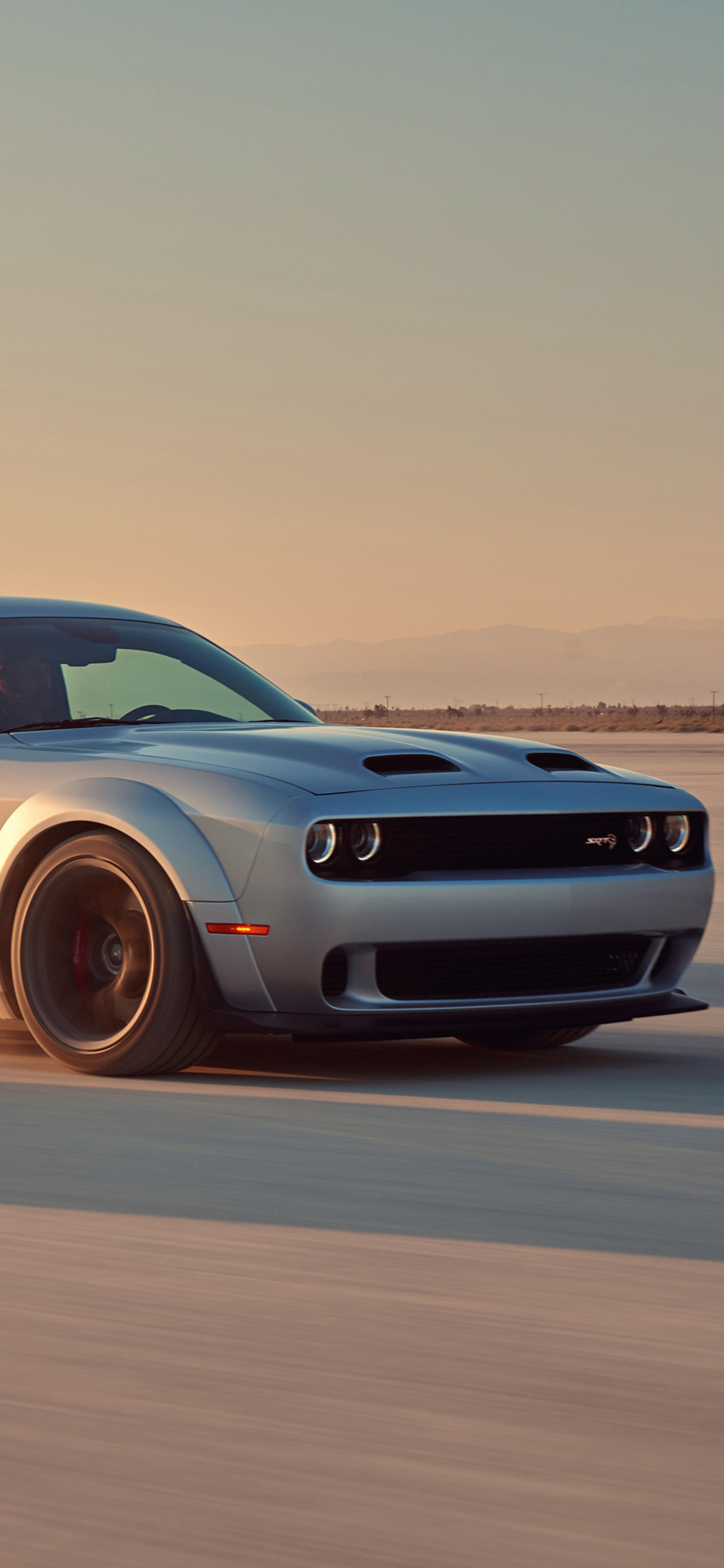 1125x2436 Dodge Challenger Srt Hellcat 2018 Iphone Xs Iphone 10 Iphone X Hd 4k Wallpapers Images Backgrounds Photos And Pictures