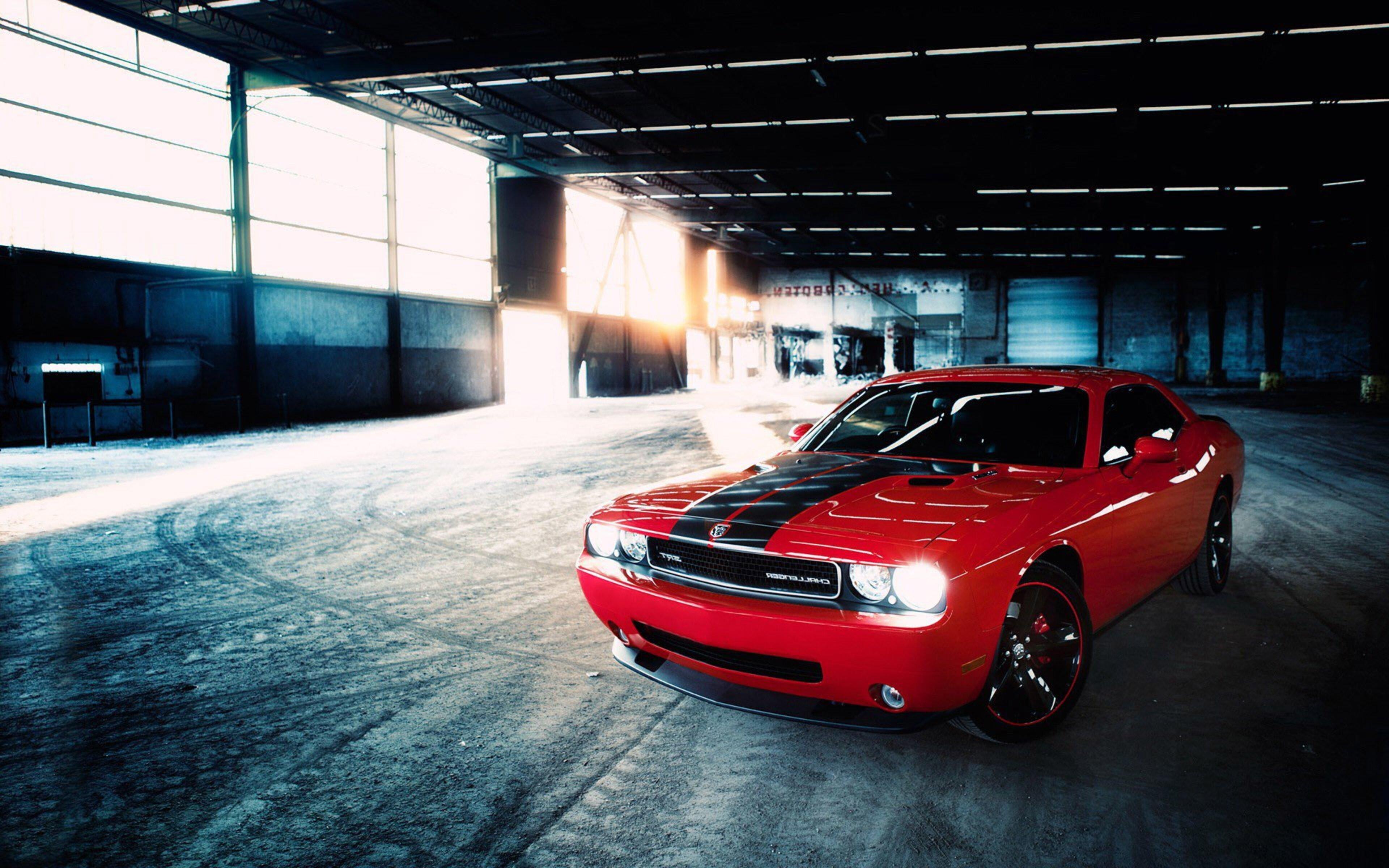 3840x2400 Dodge Challenger Srt Red 4k Hd 4k Wallpapers