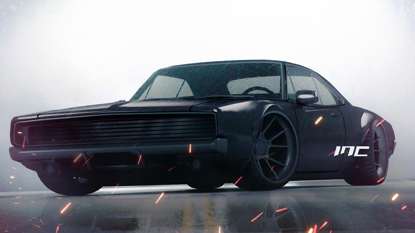 1366x768 Dodge Charger 1968 Rt 1366x768 Resolution Hd 4k