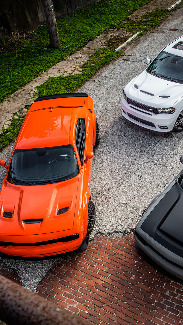 640x1136 Dodge Durango And Dodge Challenger Srt Hellcat Widebody Iphone 5 5c 5s Se Ipod Touch Hd 4k Wallpapers Images Backgrounds Photos And Pictures