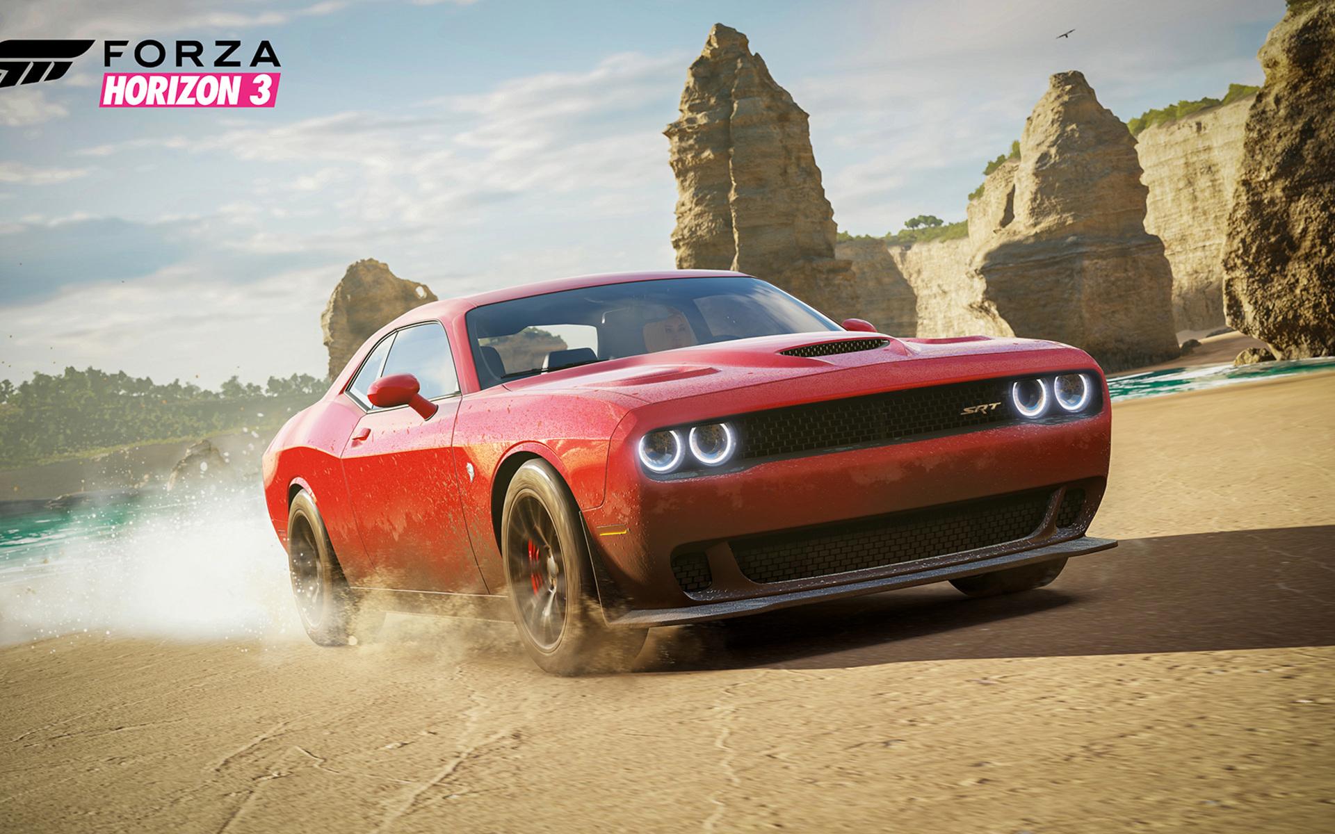 Dodge Hellcat Forza Horizon 3 To