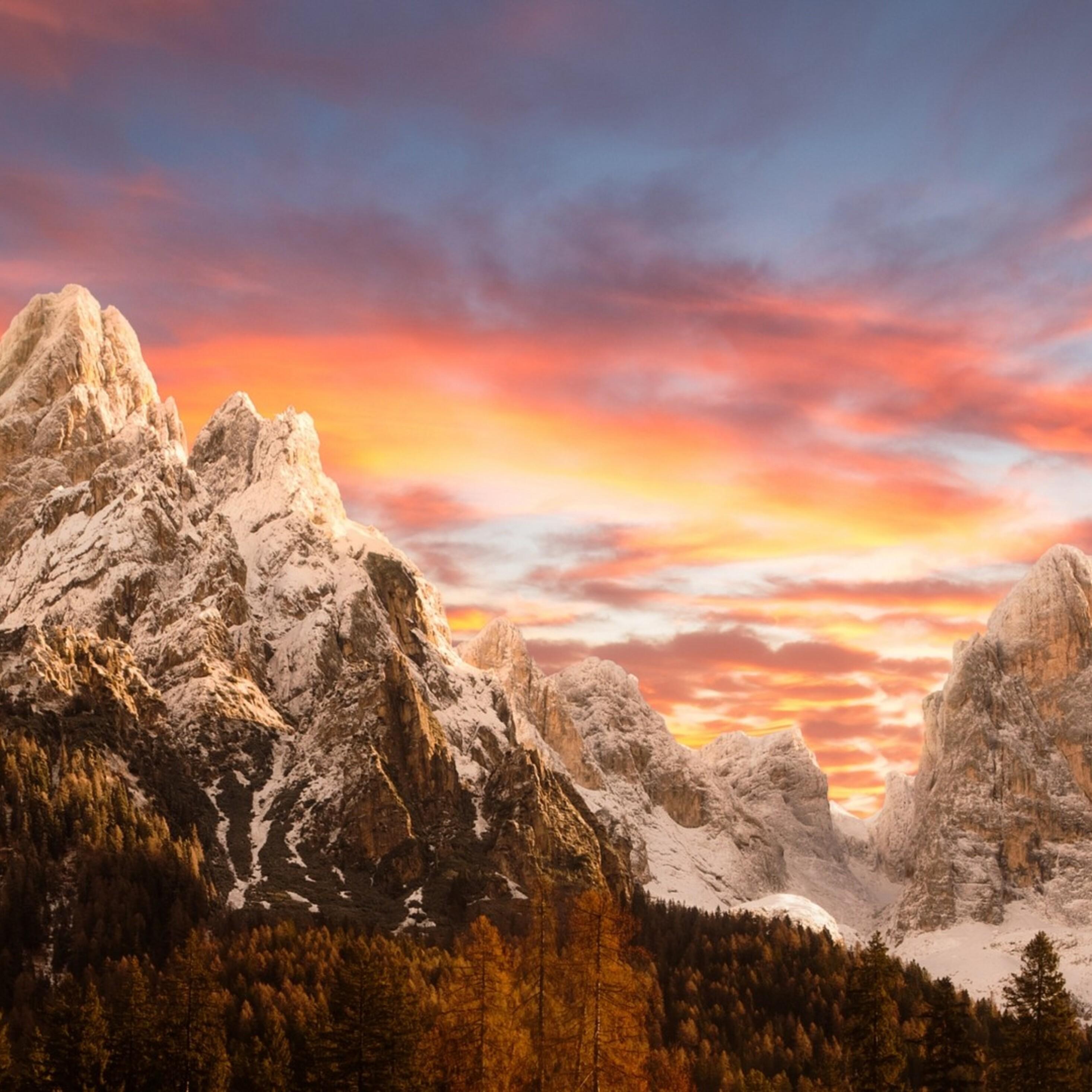 Amazing Wallpaper Mountain Ipad Pro - dolomites-mountains-2932x2932  Pic_24513.jpg