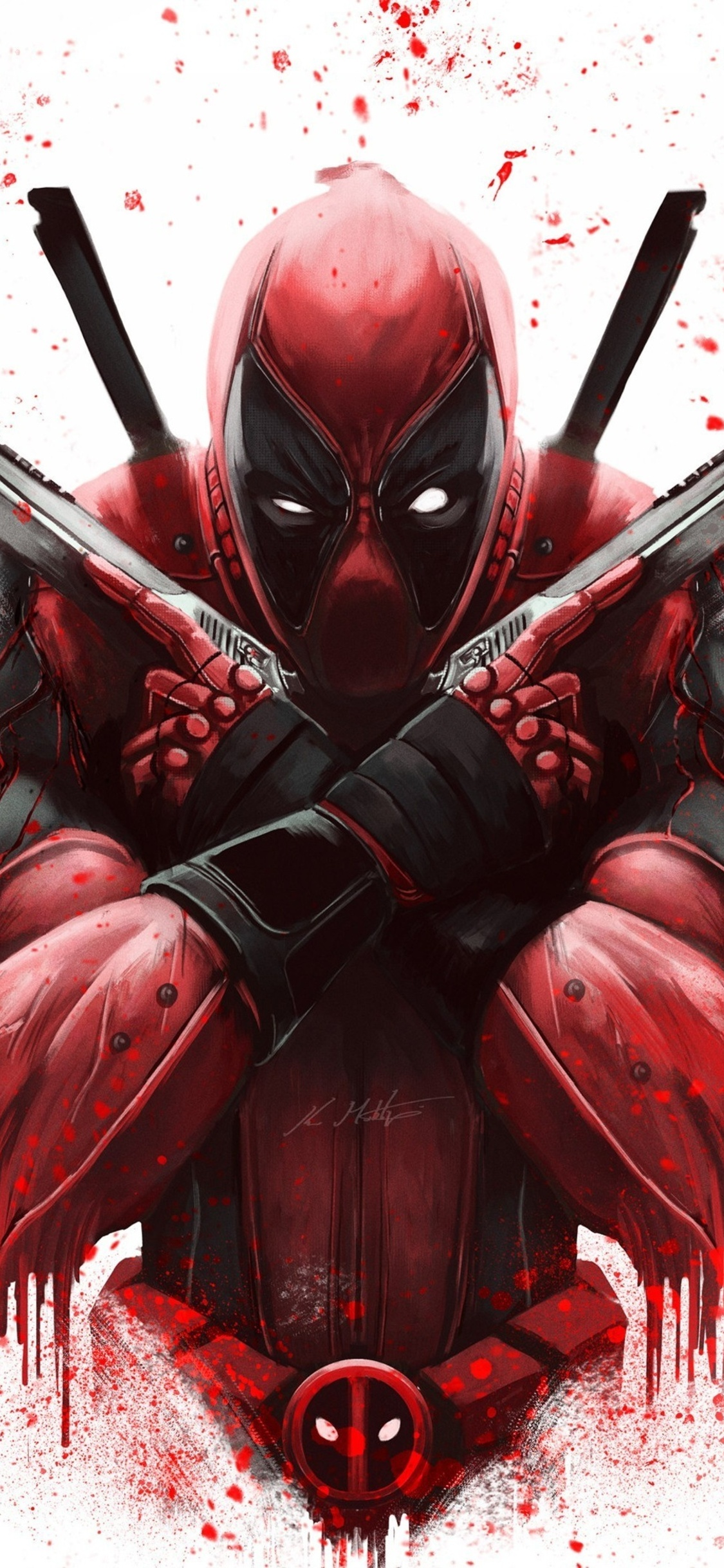 1125x2436 Dont Worry Deadpool 4k Iphone Xs Iphone 10 Iphone X Hd 4k Wallpapers Images Backgrounds Photos And Pictures