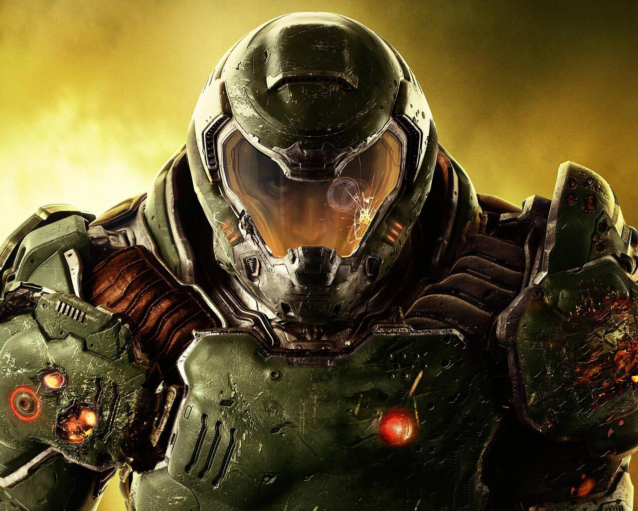 Doom 4 2016 Video Game Qu