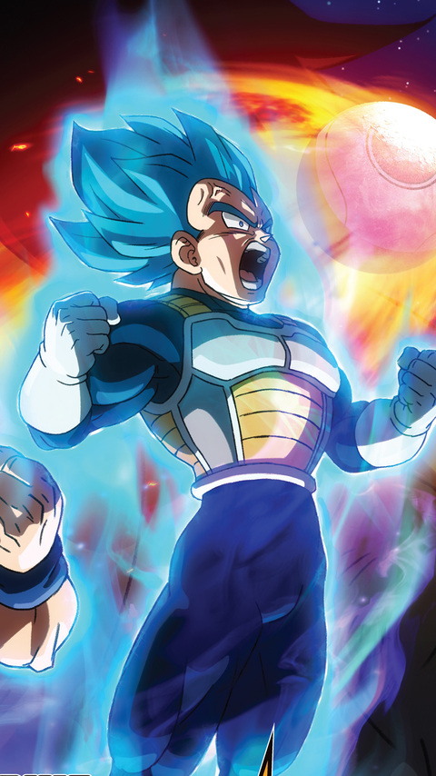 480x854 Dragon Ball Super Broly Movie 2019 Android One Hd 4k