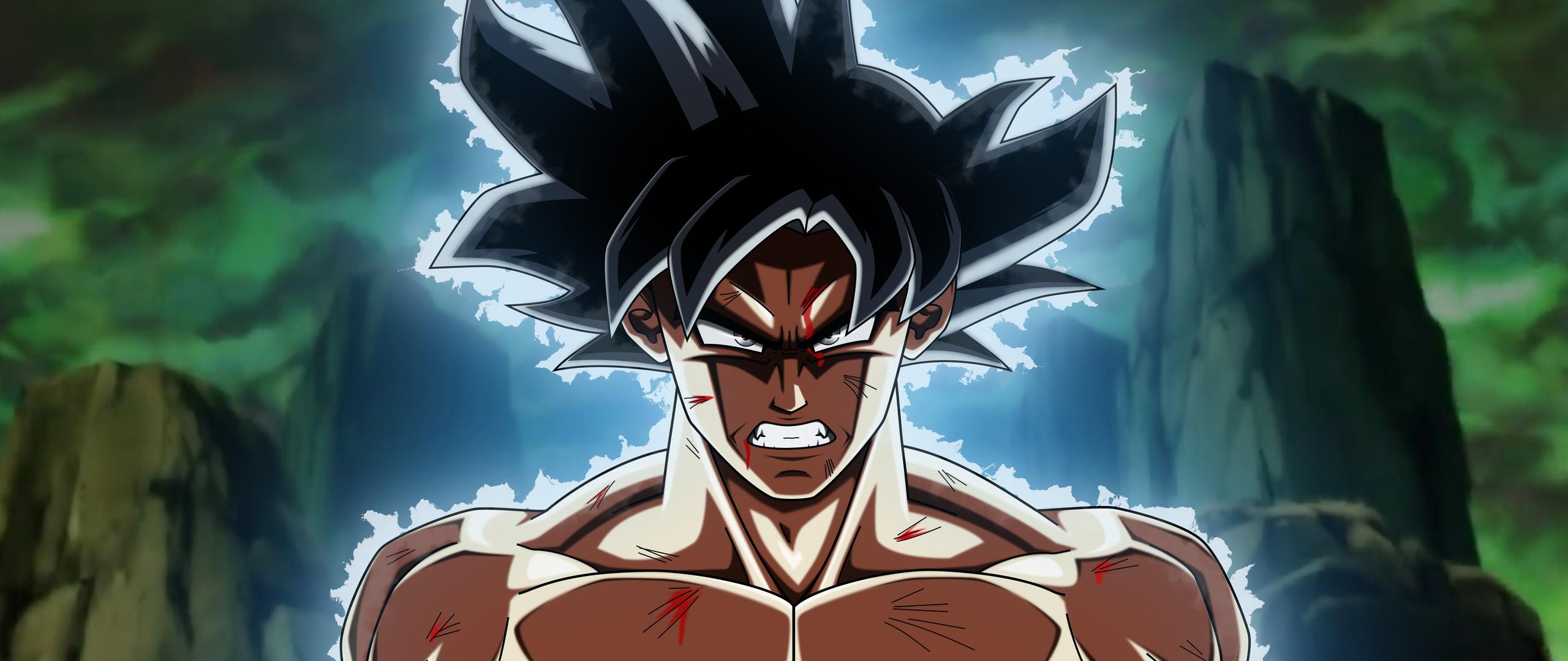Goku Ultra Instinct 4k Wallpapers: 2560x1080 Dragon Ball Super Goku Ultra Instinct 2560x1080