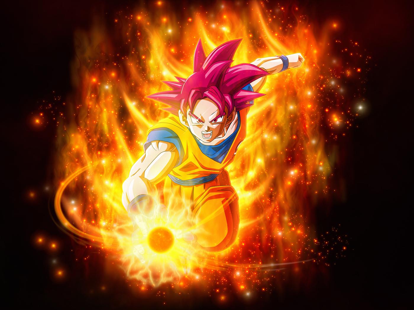 Dragon Ball Super Saiyan Goku Jh