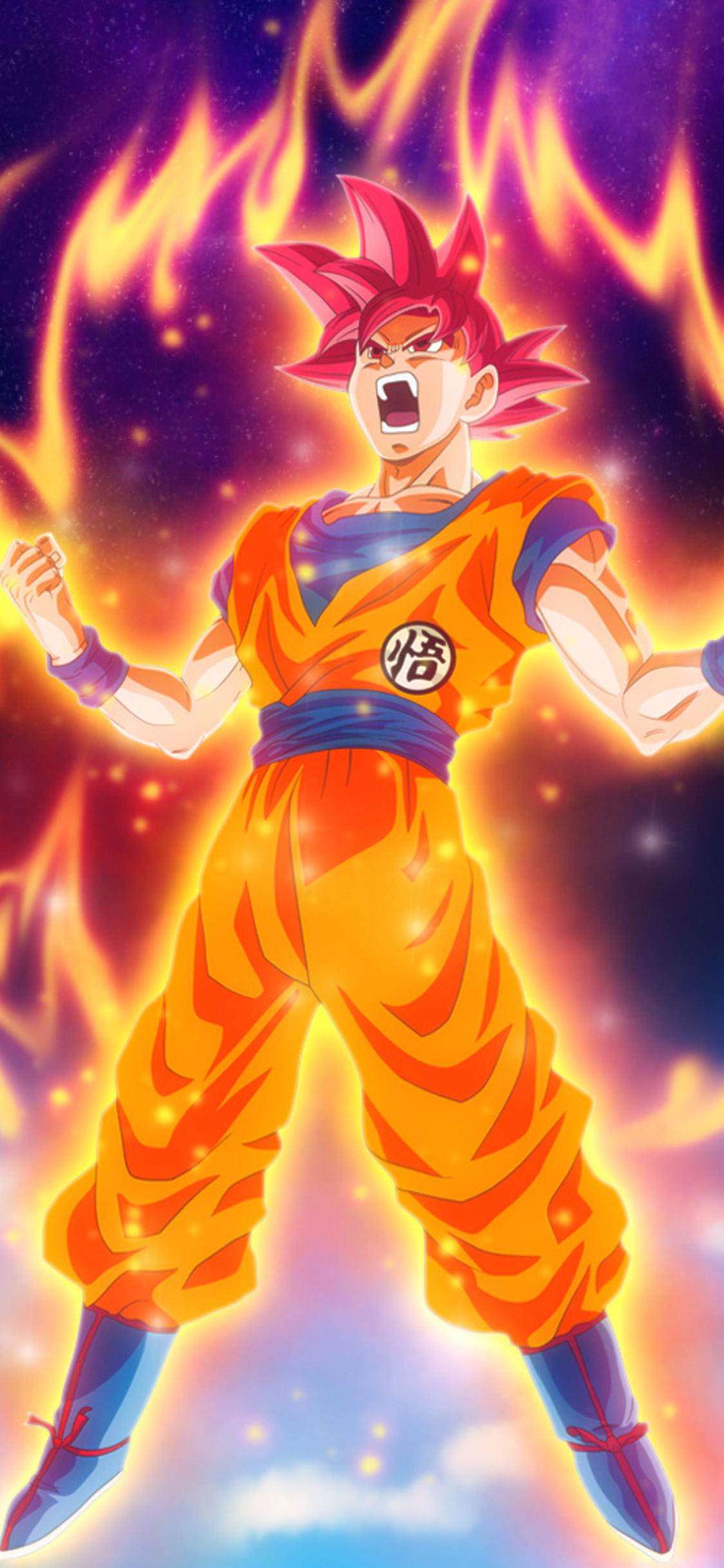 1125x2436 Dragon Ball Z Goku Iphone Xs Iphone 10 Iphone X Hd 4k