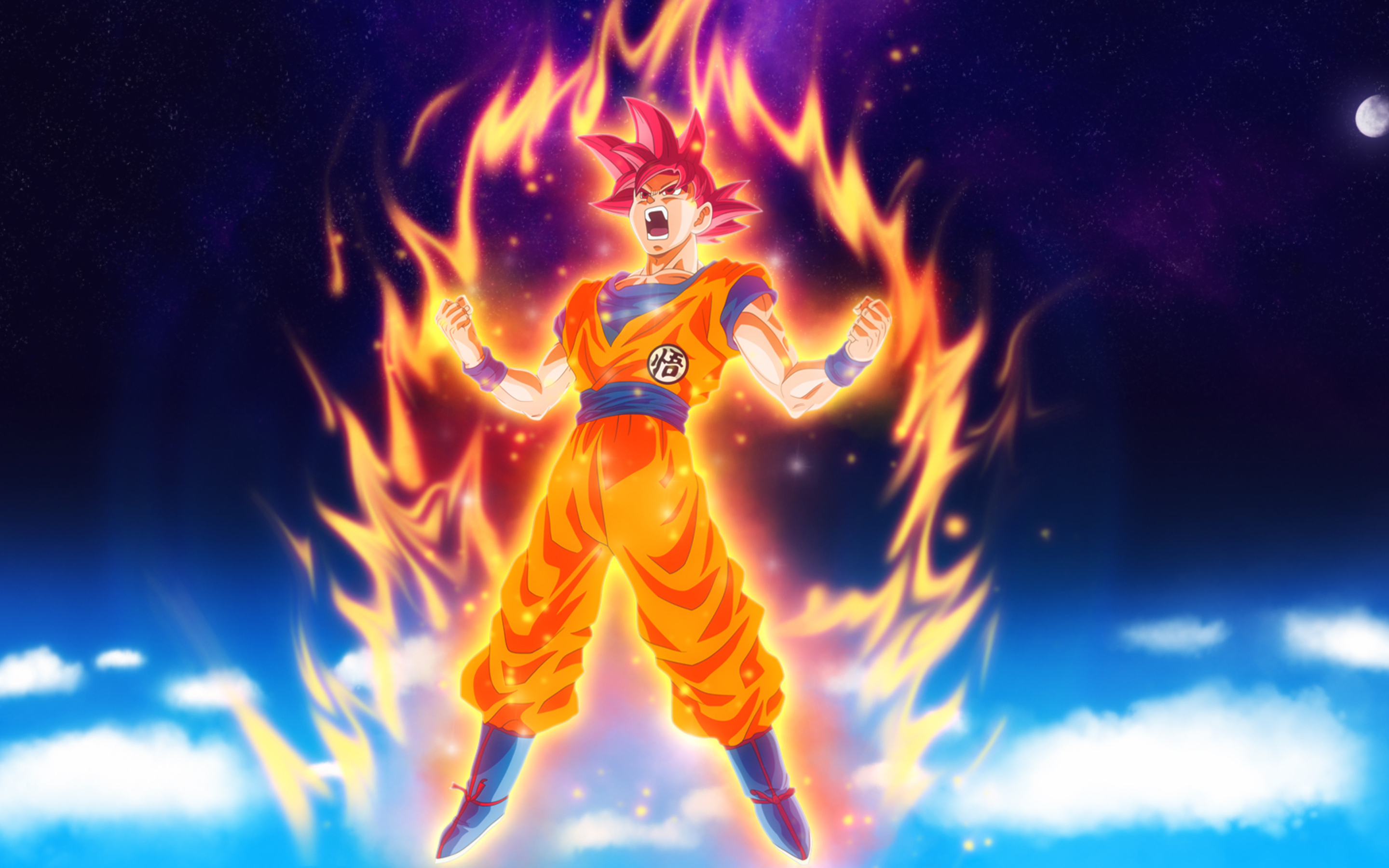 2880x1800 Dragon Ball Z Goku Macbook Pro Retina Hd 4k Wallpapers