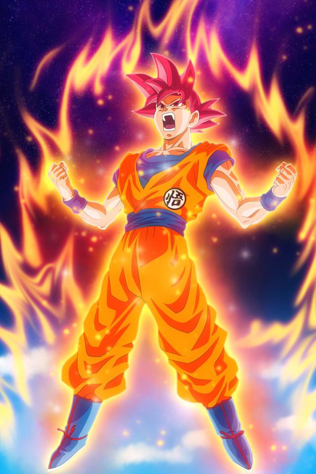 640x960 Dragon Ball Z Goku Iphone 4 Iphone 4s Hd 4k Wallpapers