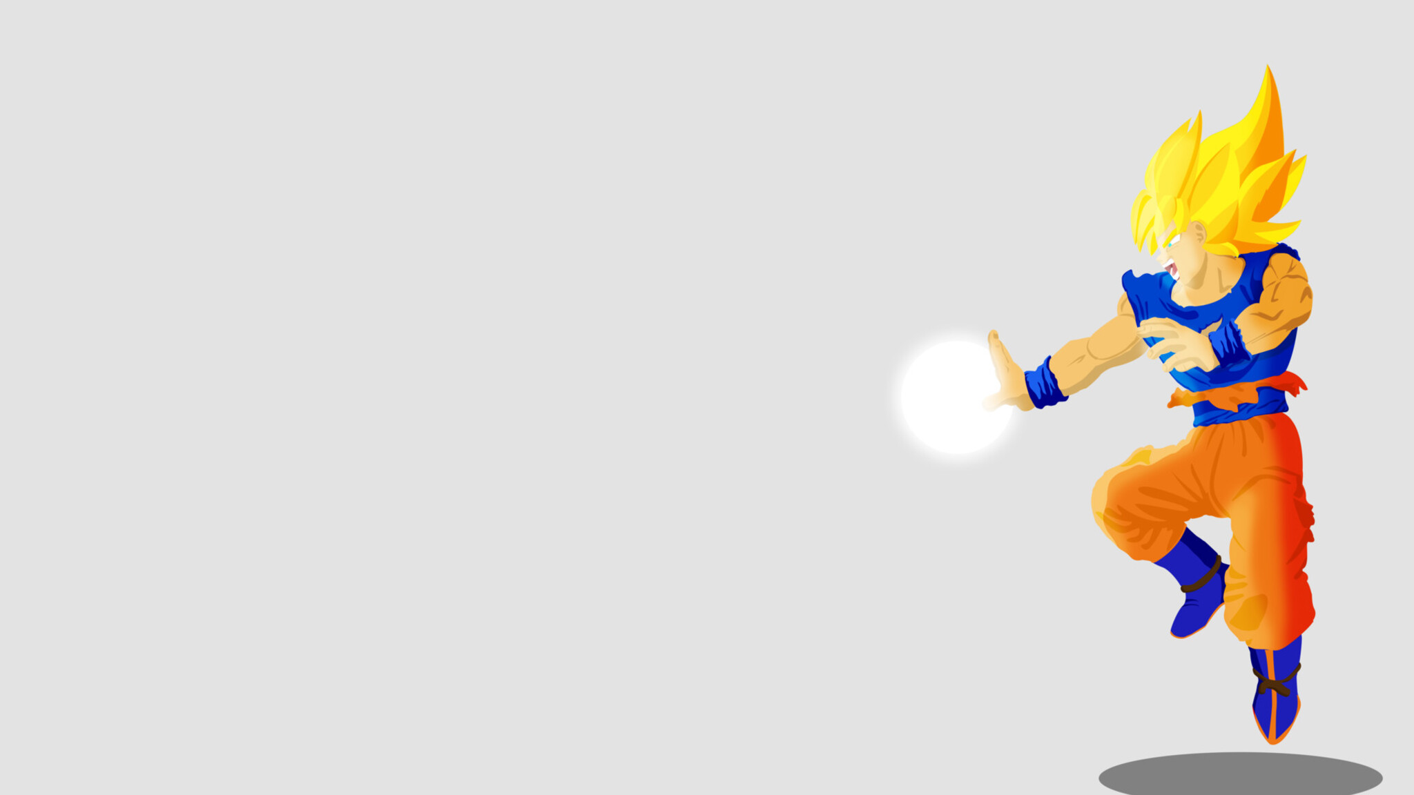 2048x1152 Dragon Ball Z Illustration Goku 2048x1152 ...