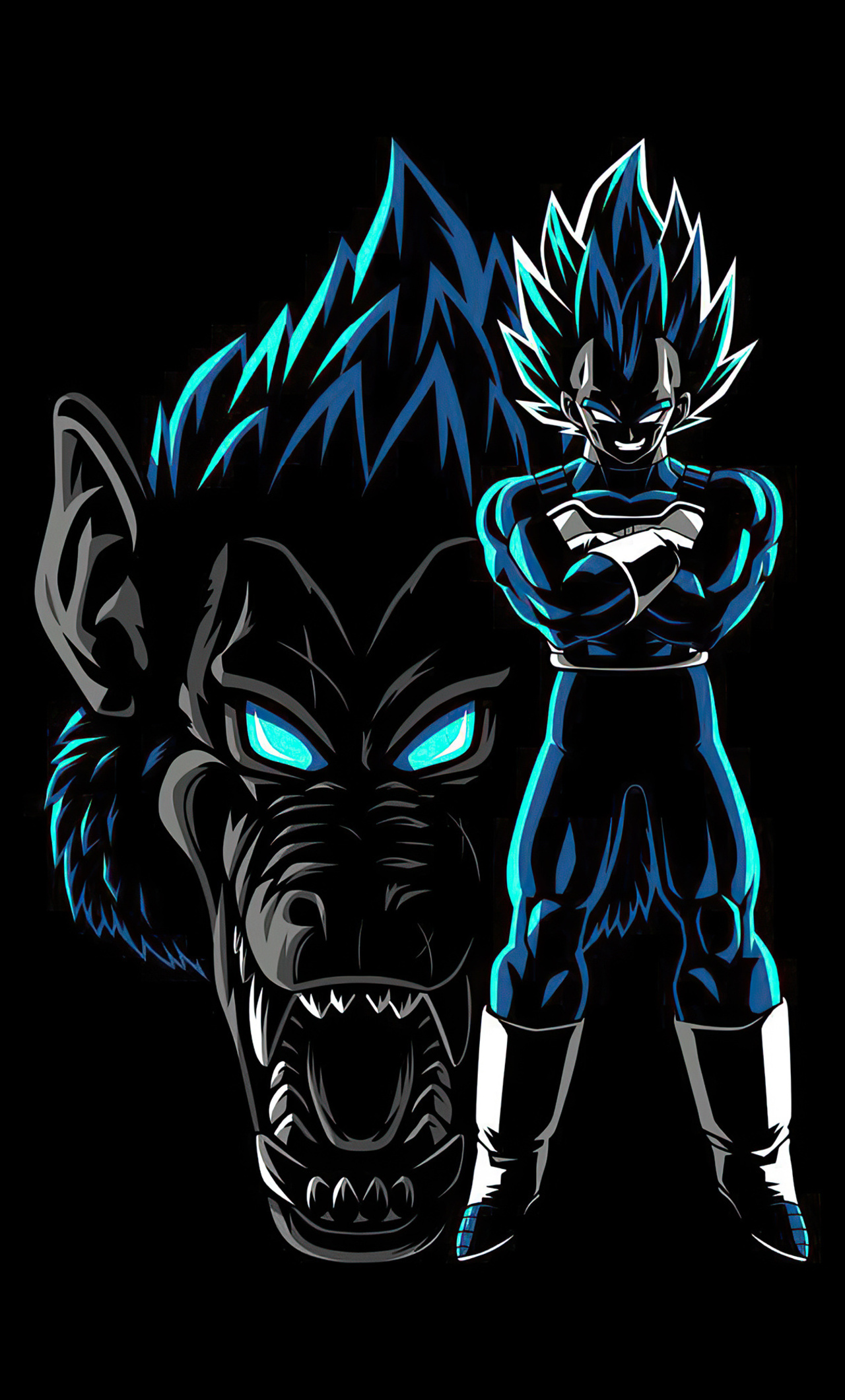 1280x2120 Dragon Ball Z Ozaru Vegeta Blue 4k Iphone 6 Hd 4k Wallpapers Images Backgrounds Photos And Pictures