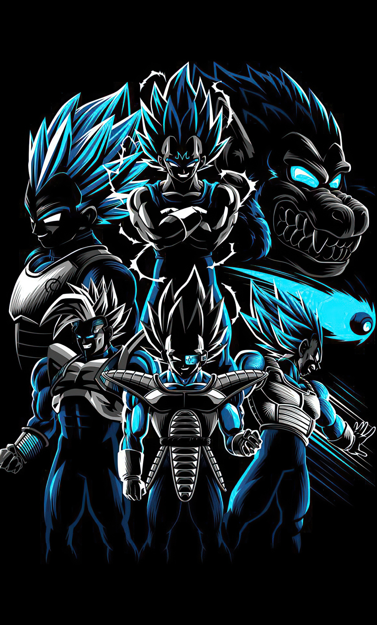 1280x2120 Dragon Ball Z Team 4k Iphone 6 Hd 4k Wallpapers Images Backgrounds Photos And Pictures