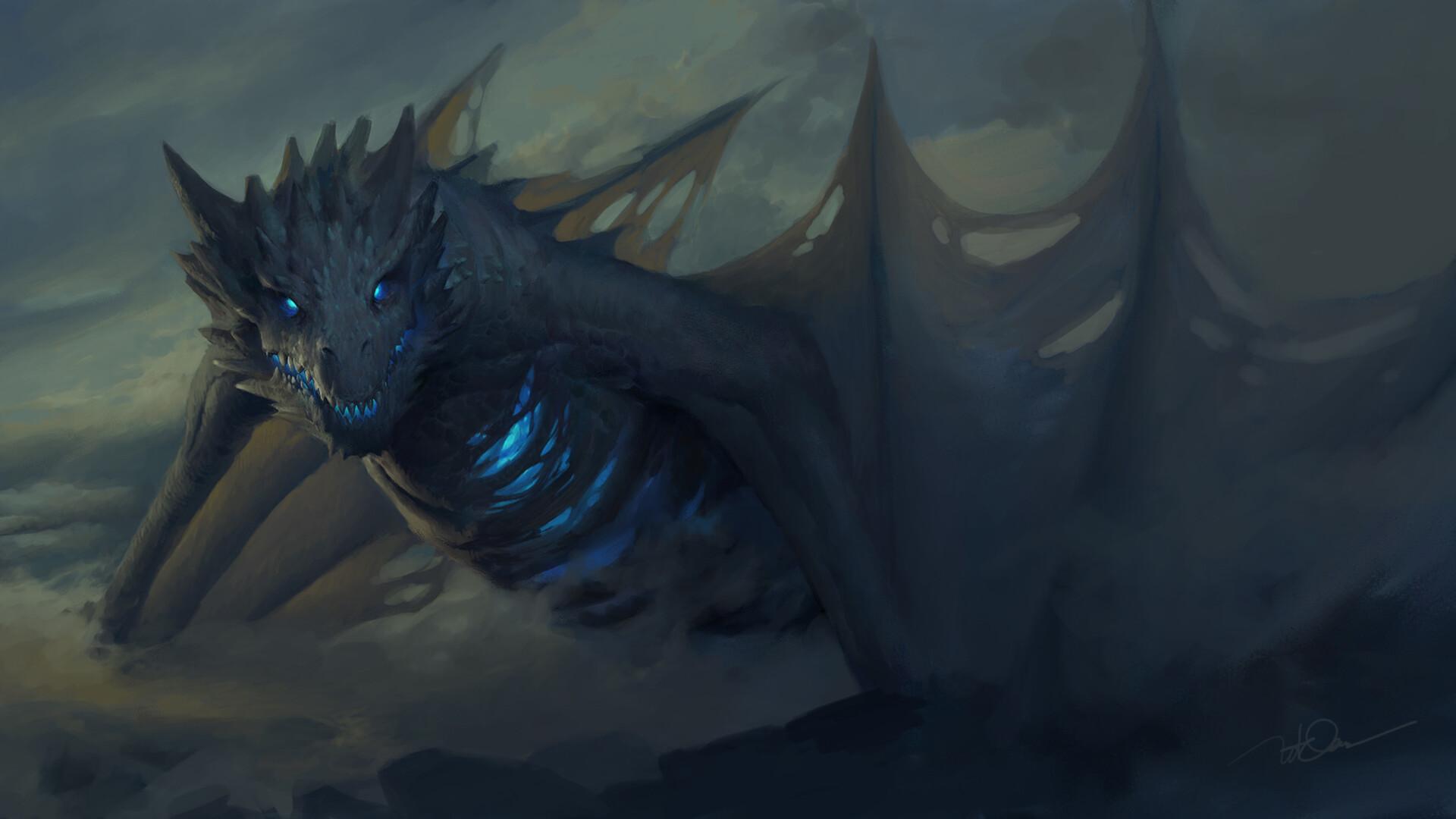 Dragon Game Of Thrones Artwork Ro