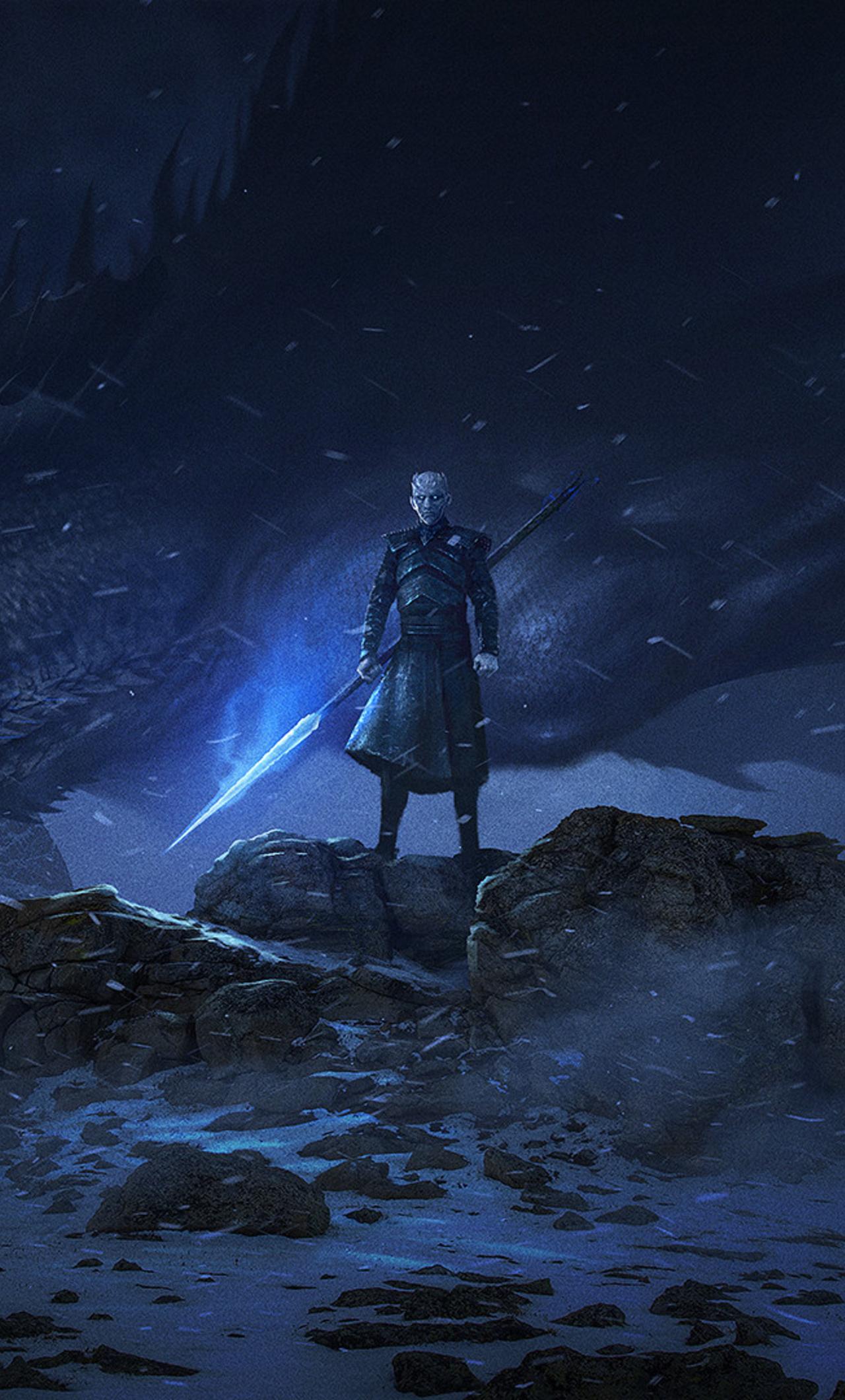 1280x2120 Dragon Night King Game Of Thrones Season 8 Iphone 6 Hd 4k