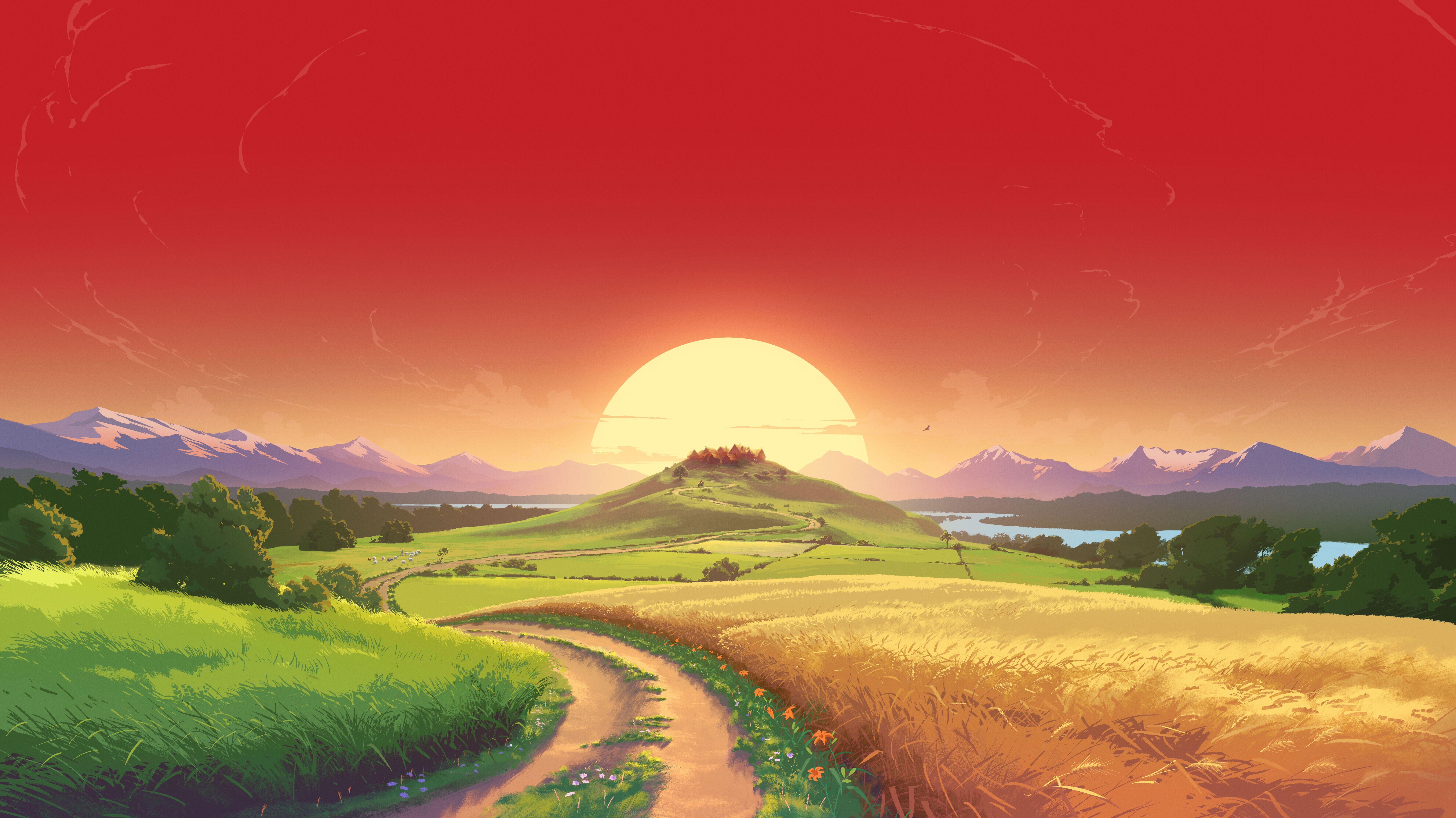 7680x4320 Dragon Quest Builders 12k 8k HD 4k Wallpapers