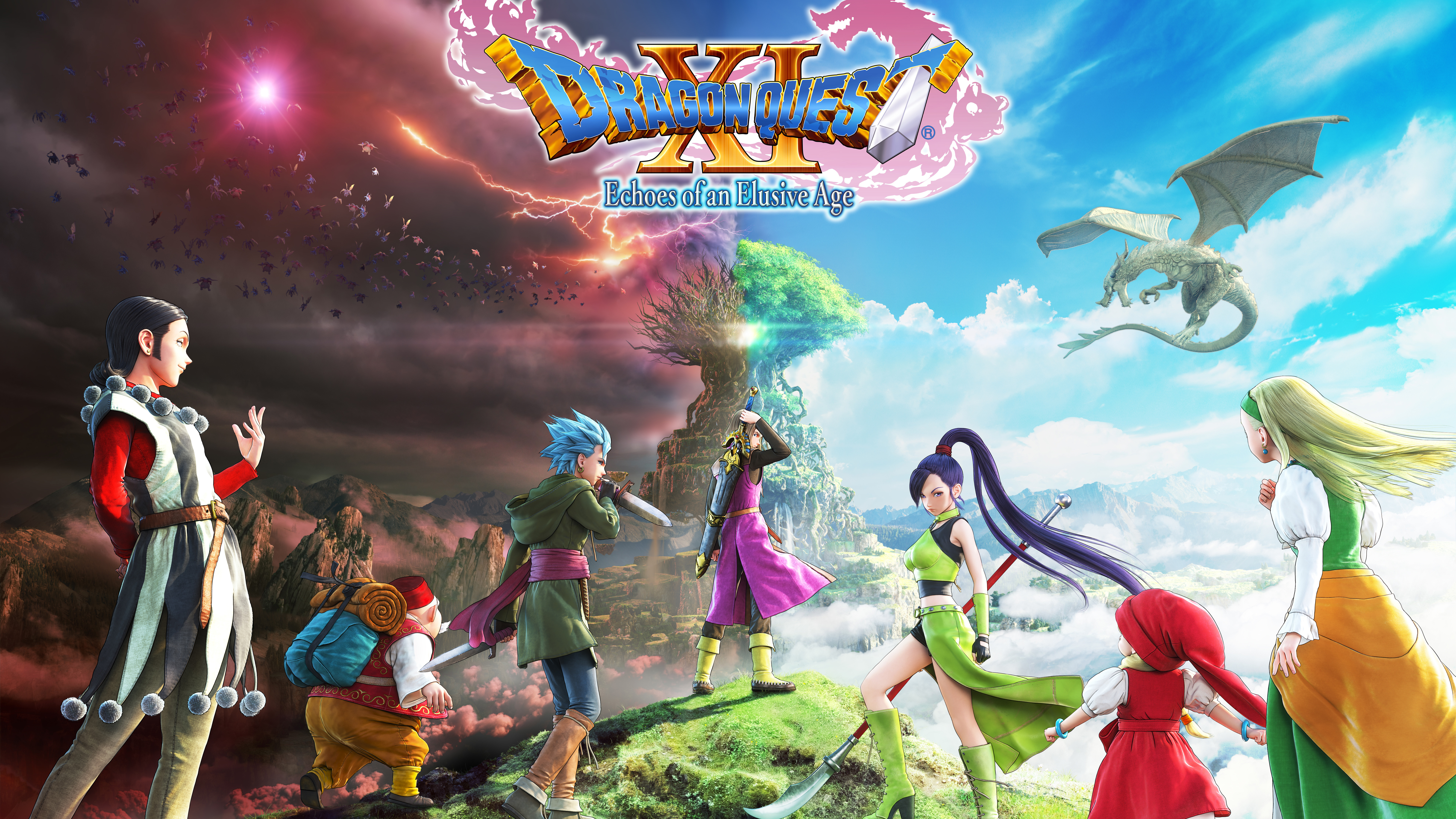 7680x4320 dragon quest xi 8k 8k hd 4k wallpapers images