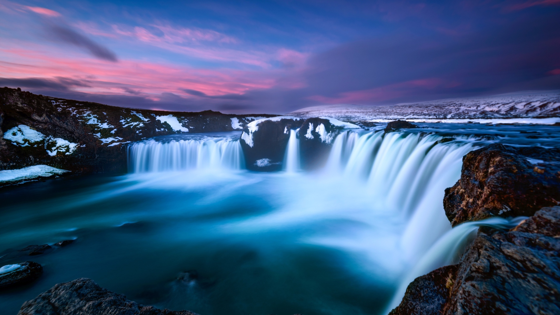 1920x1080 Dreamy Waterfall 4k Laptop Full Hd 1080p Hd 4k
