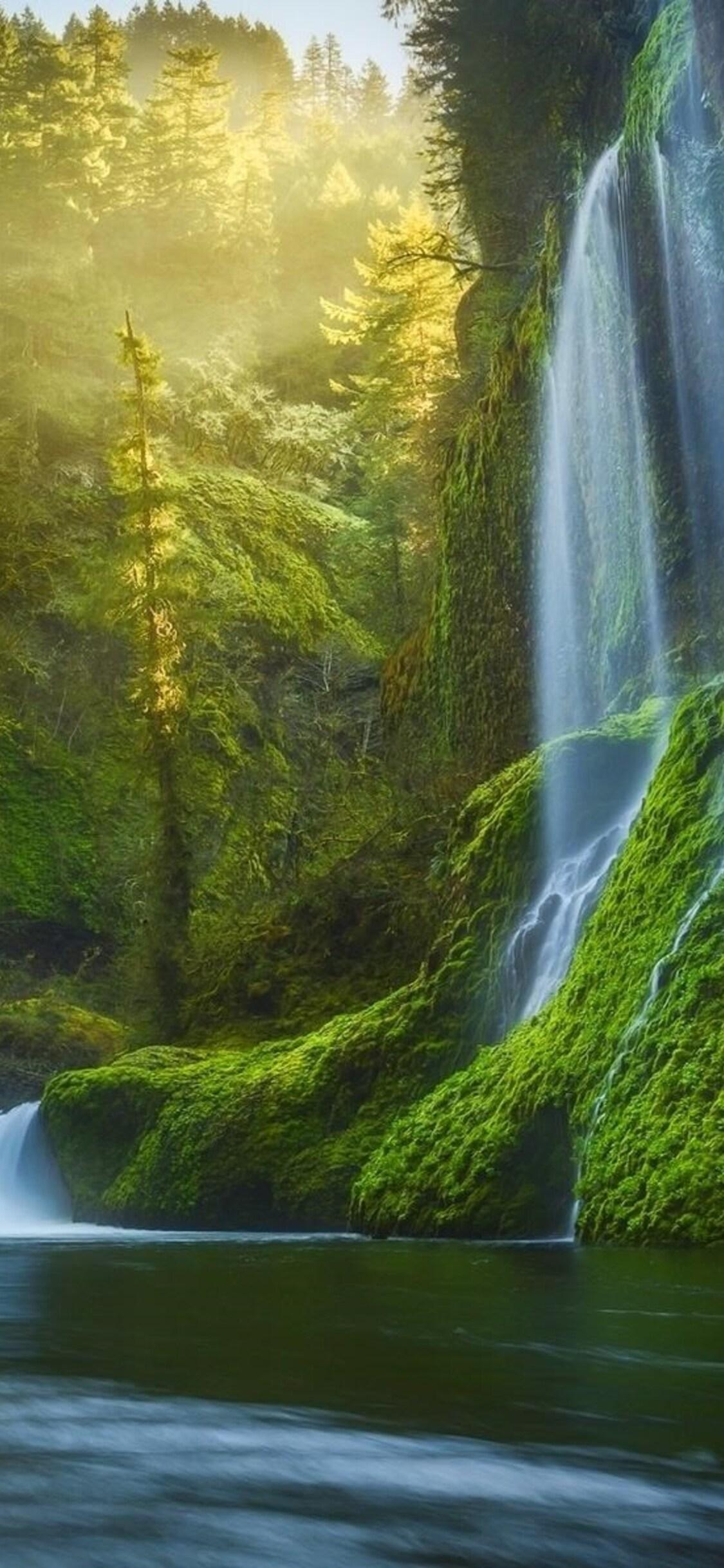 1125x2436 Dreamy Waterfall Iphone Xs Iphone 10 Iphone X Hd 4k