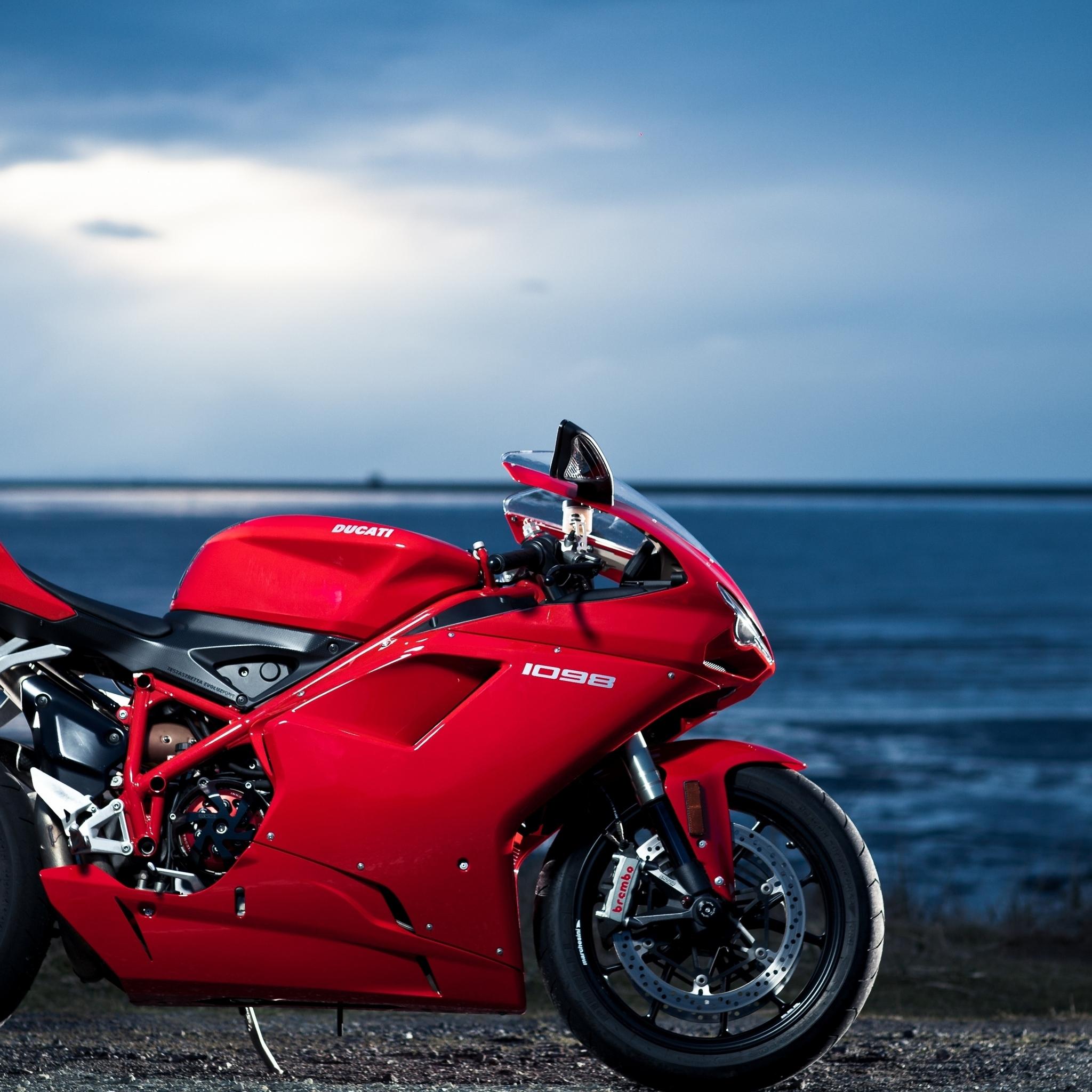 Ducati Motorcycle Wallpaper: 2048x2048 Ducati 1098 4K Ipad Air HD 4k Wallpapers, Images