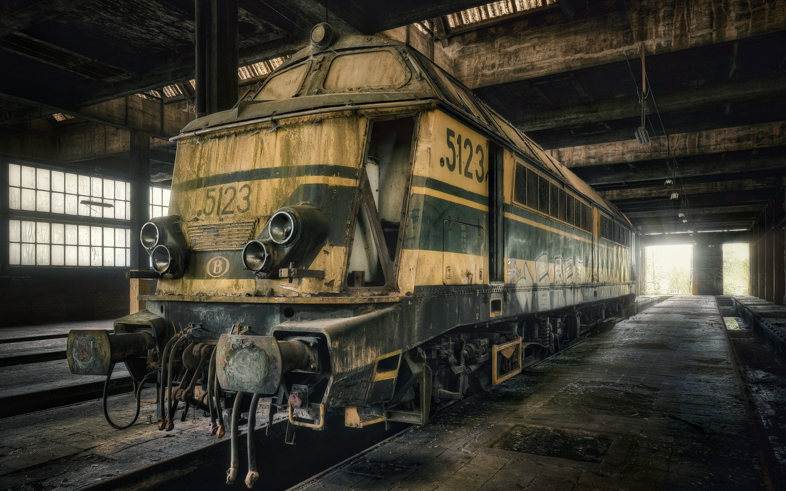 2560x1600 Dusty Old Train Art 2560x1600 Resolution Hd 4k