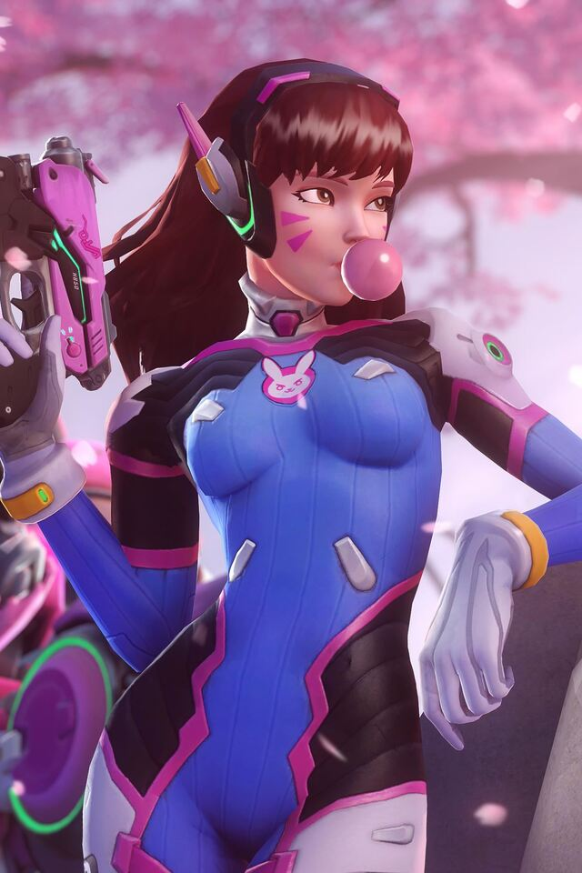 640x960 Dva Overwatch 4k Iphone 4 Iphone 4s Hd 4k Wallpapers