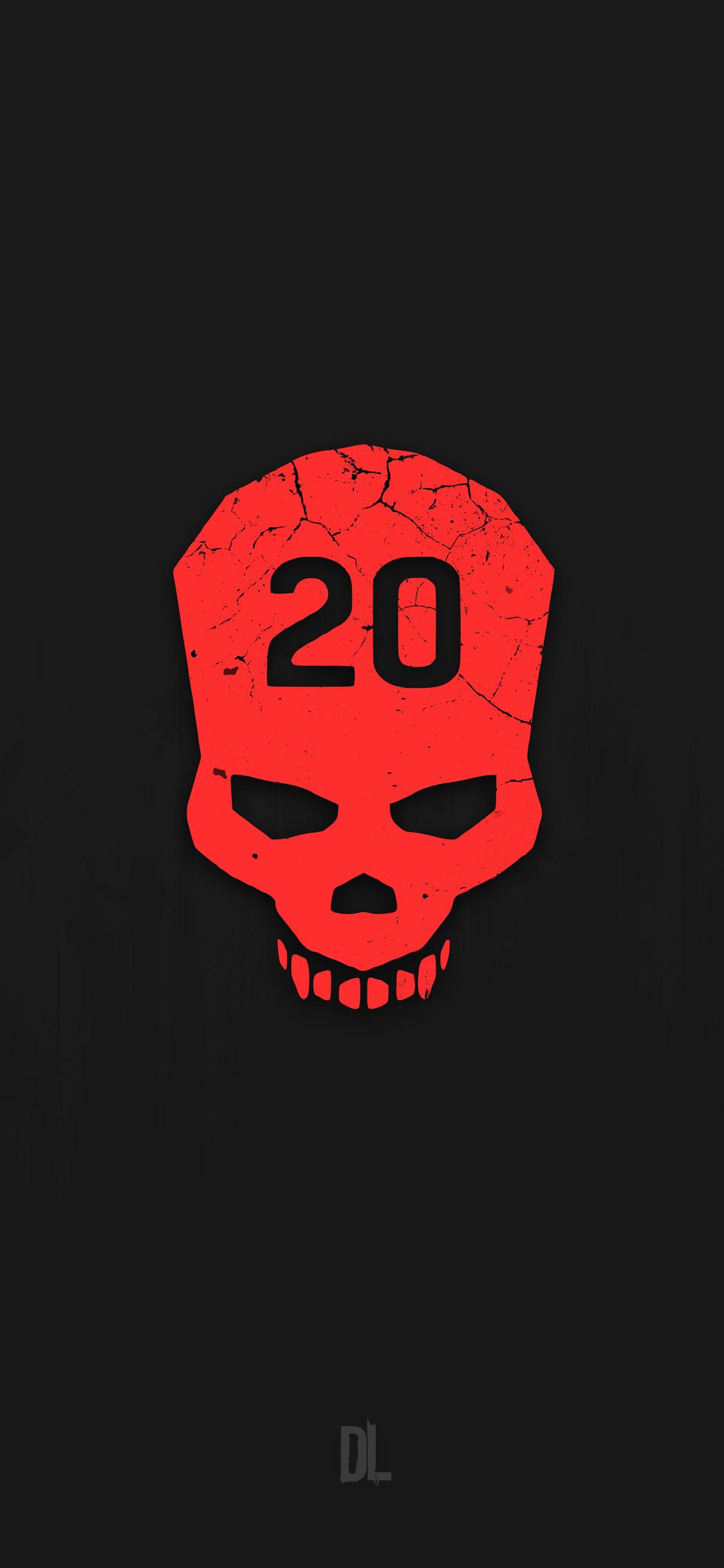 Dying Light Skull Minimalism 12k Y4