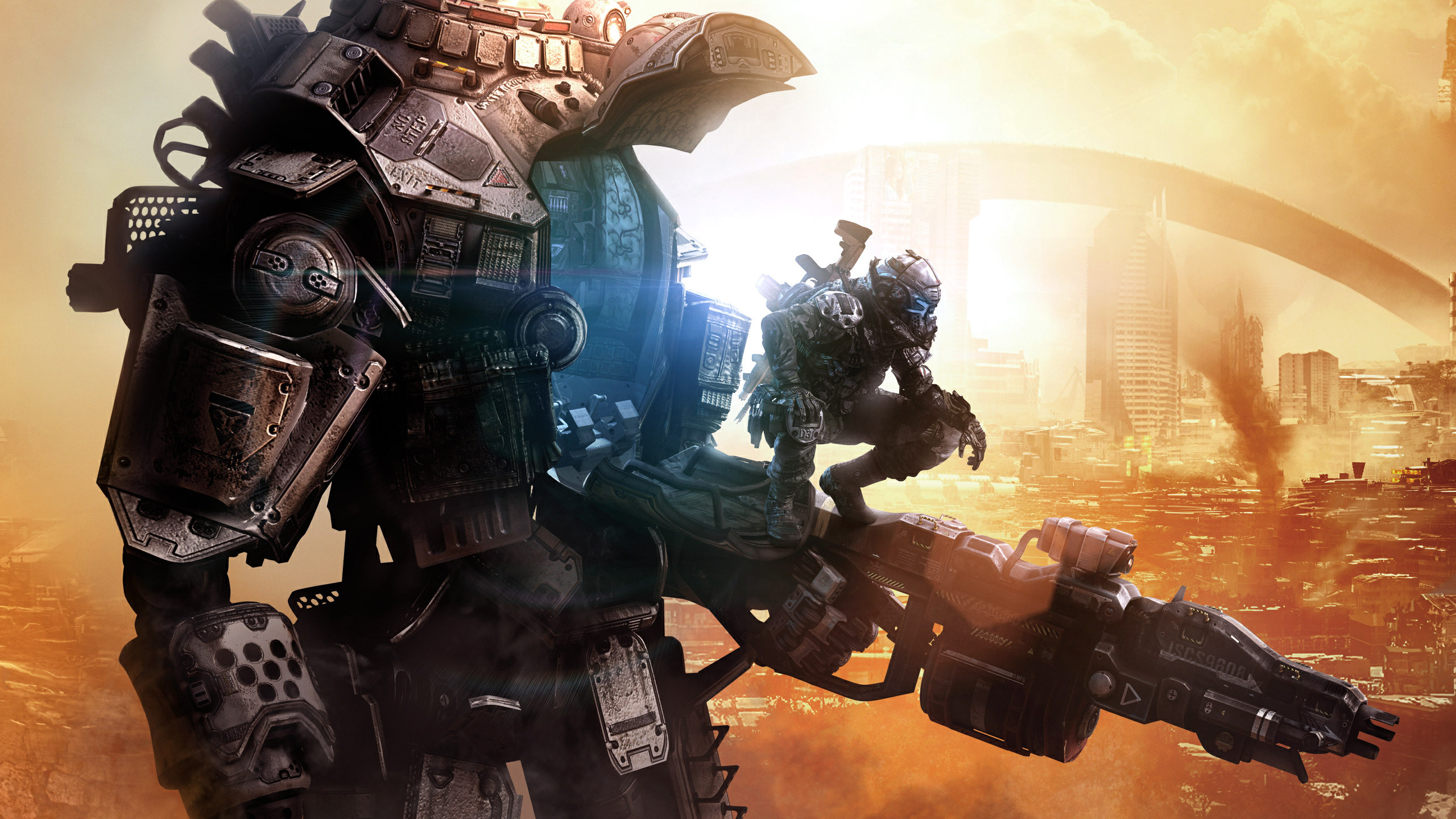 Dystopia Titanfall 2 Wide