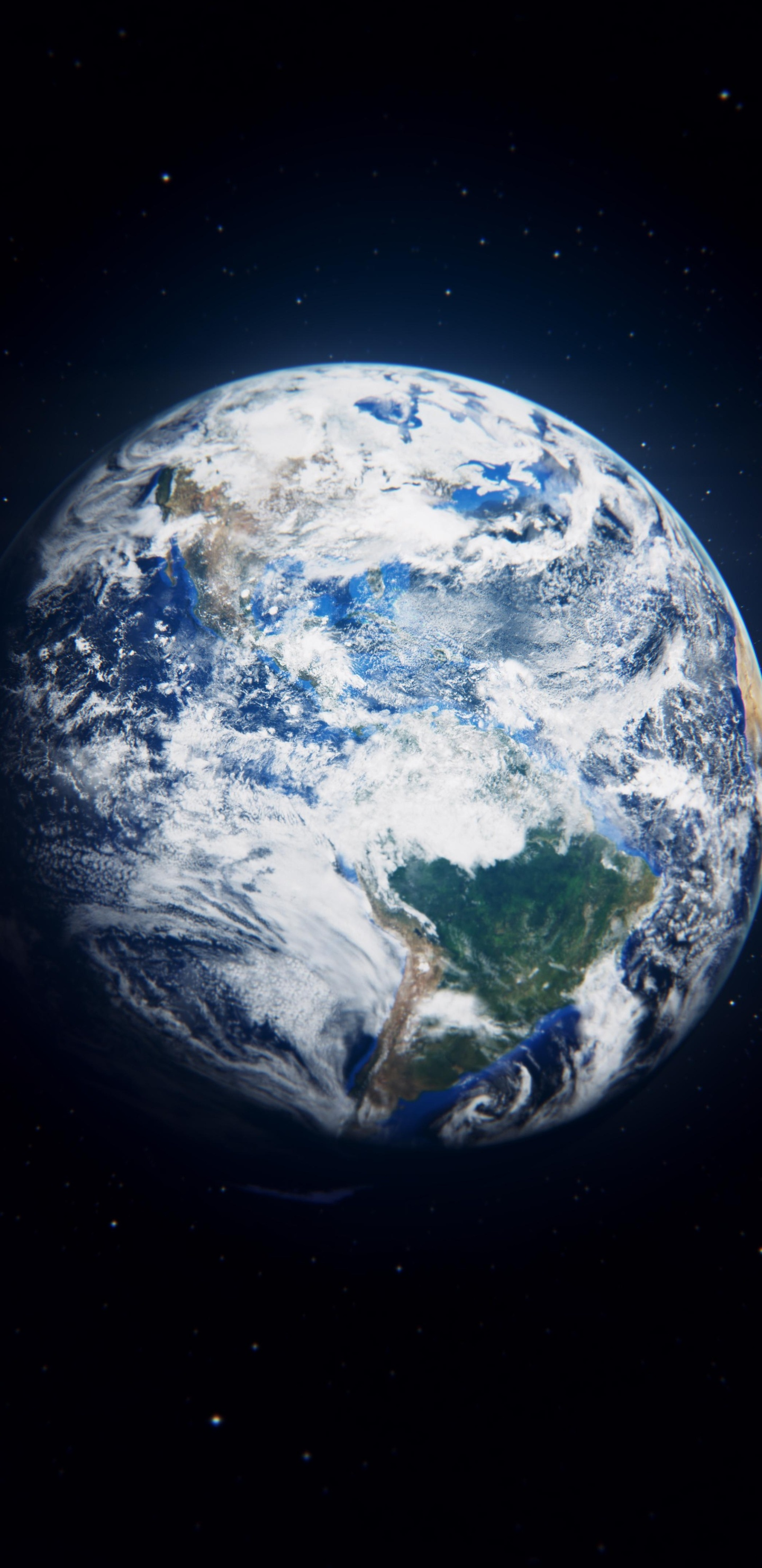 earth view from space 8k 1a