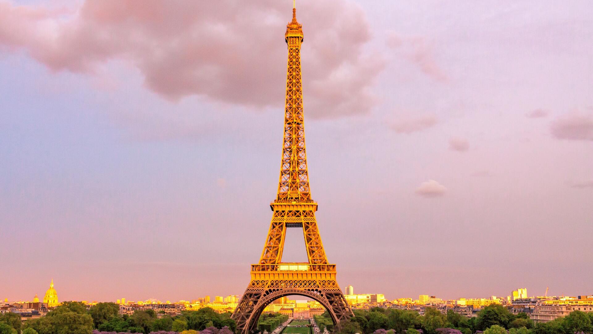 1920x1080 Eiffel Tower In Paris Laptop Full Hd 1080p Hd 4k