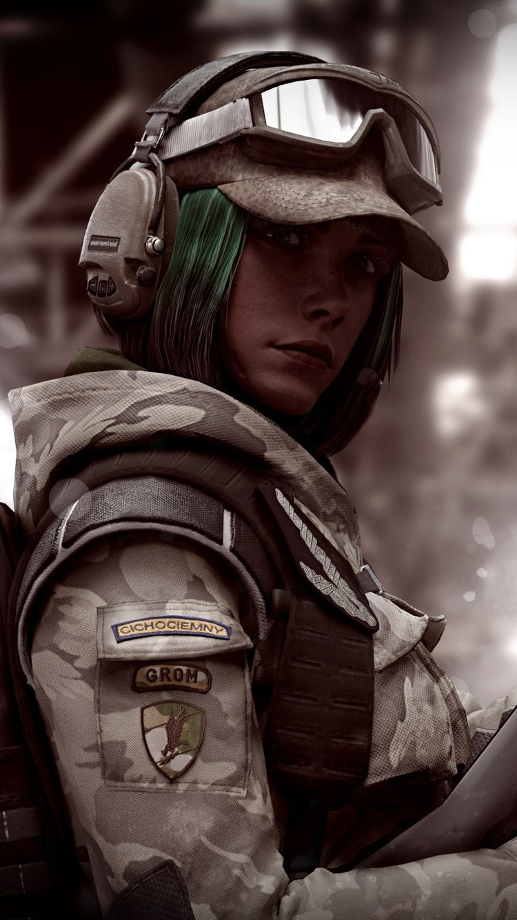 750x1334 Ela R6 Tom Clancys Rainbow Six Siege Iphone 6 Iphone 6s Iphone 7 Hd 4k Wallpapers Images Backgrounds Photos And Pictures