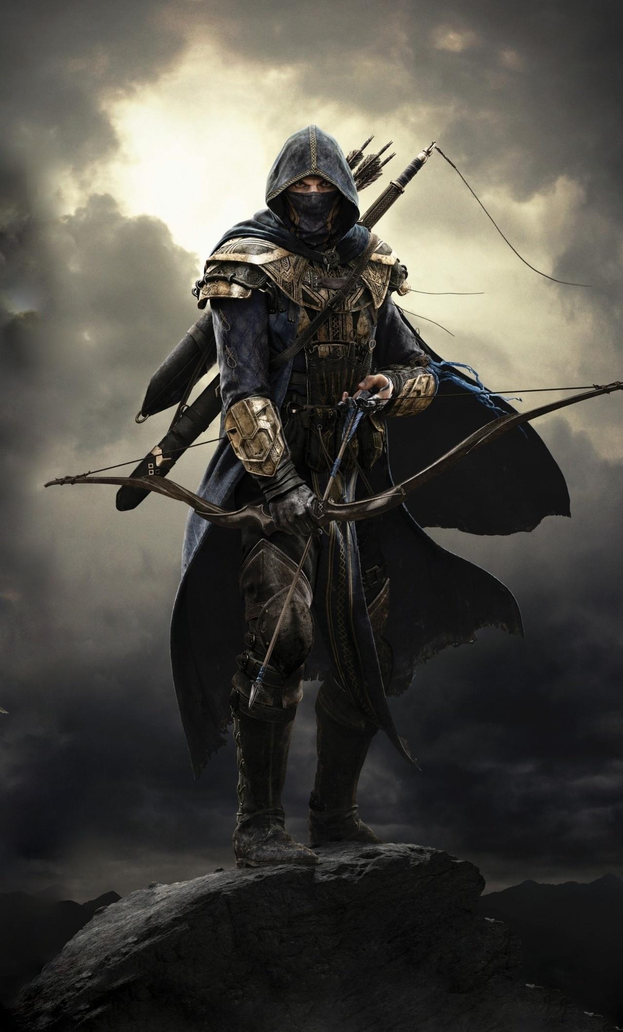 1280x2120 Elder Scrolls Online Warrior Iphone 6 Hd 4k Wallpapers