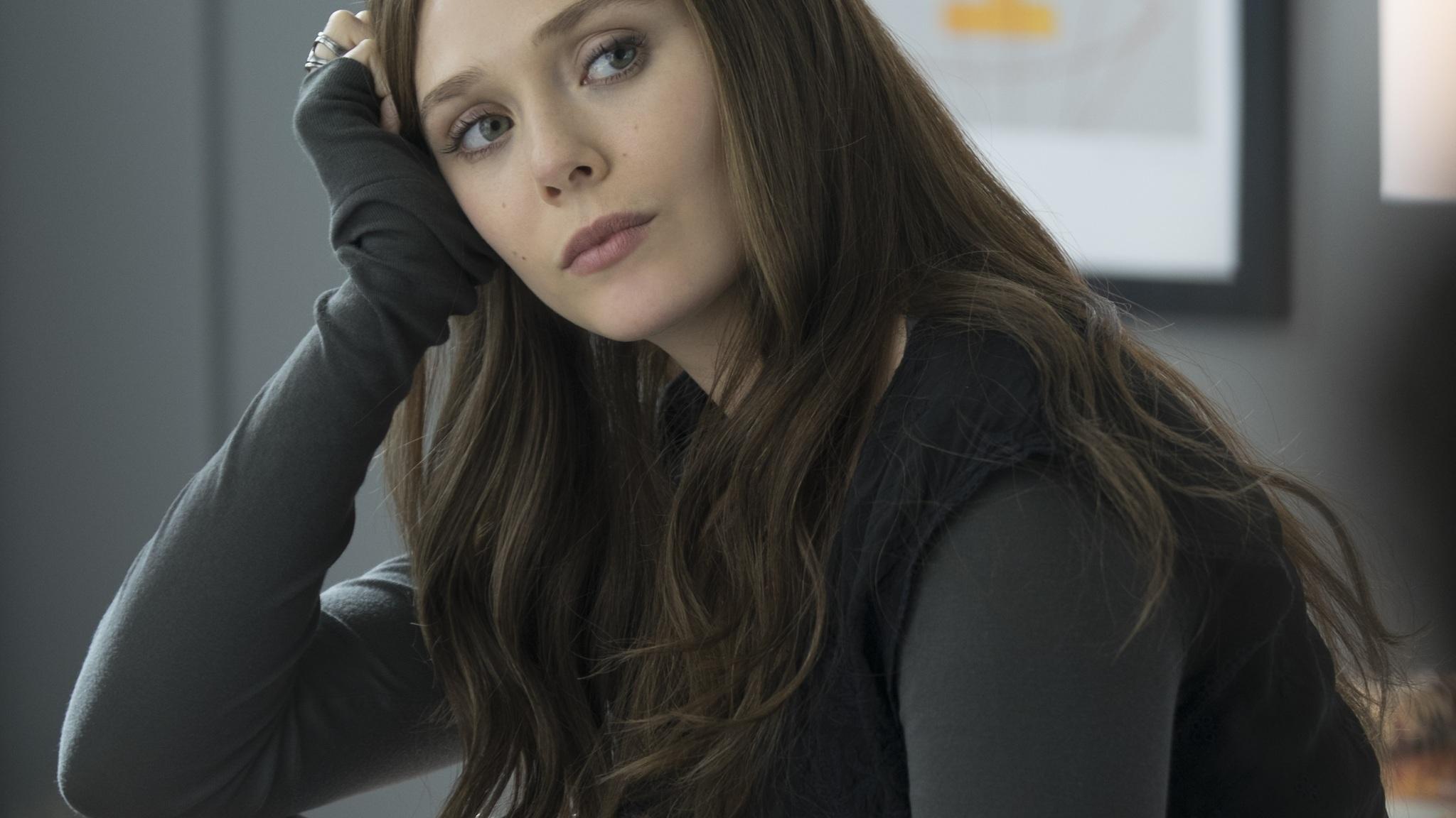 2048X1152 Elizabeth Olsen As Scarlet Witch 2048X1152 -1284