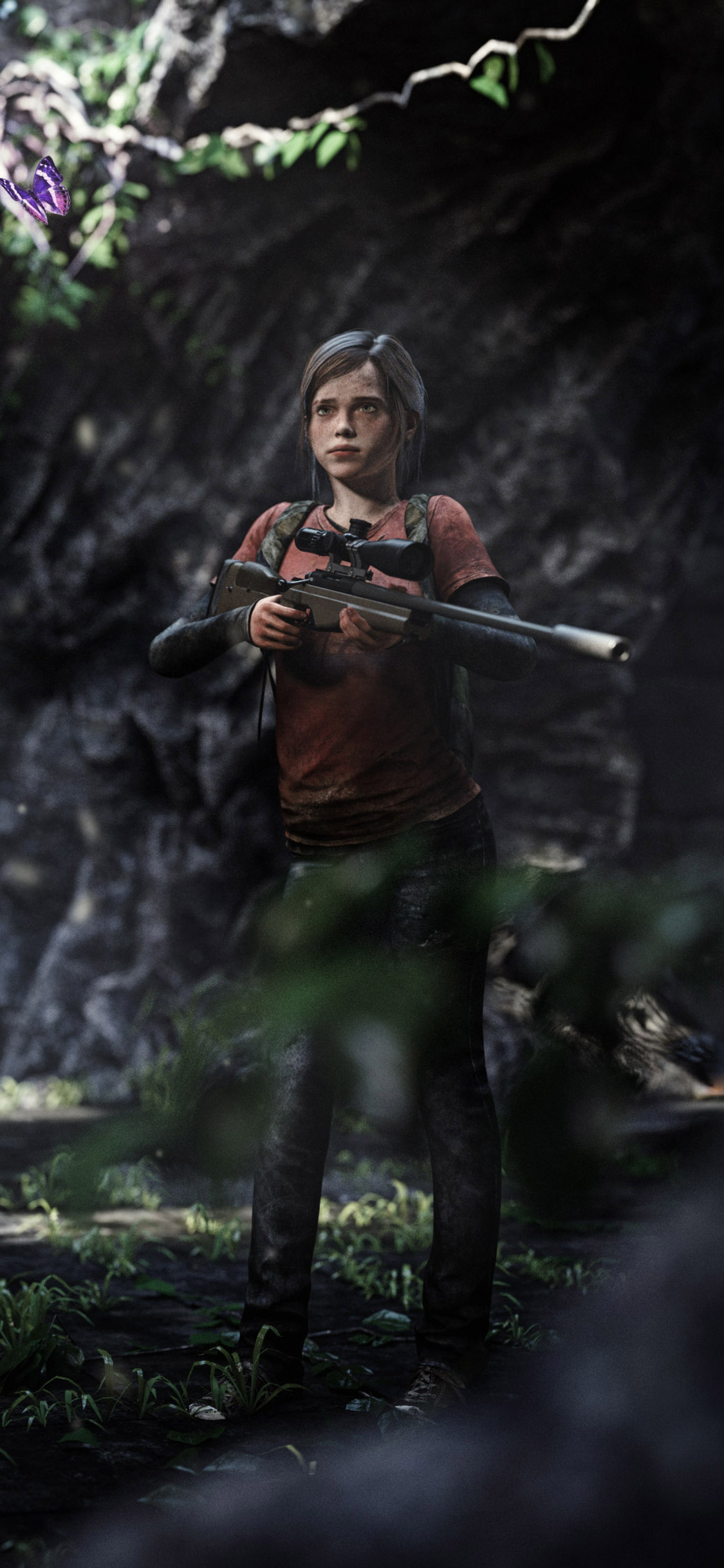 1125x2436 Elle The Last Of Us 3d Art Iphone Xs Iphone 10 Iphone X