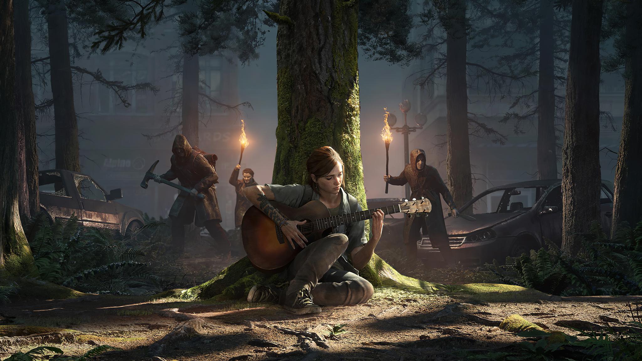 2048x1152 Ellie The Last Of Us 4k 2048x1152 Resolution HD ...