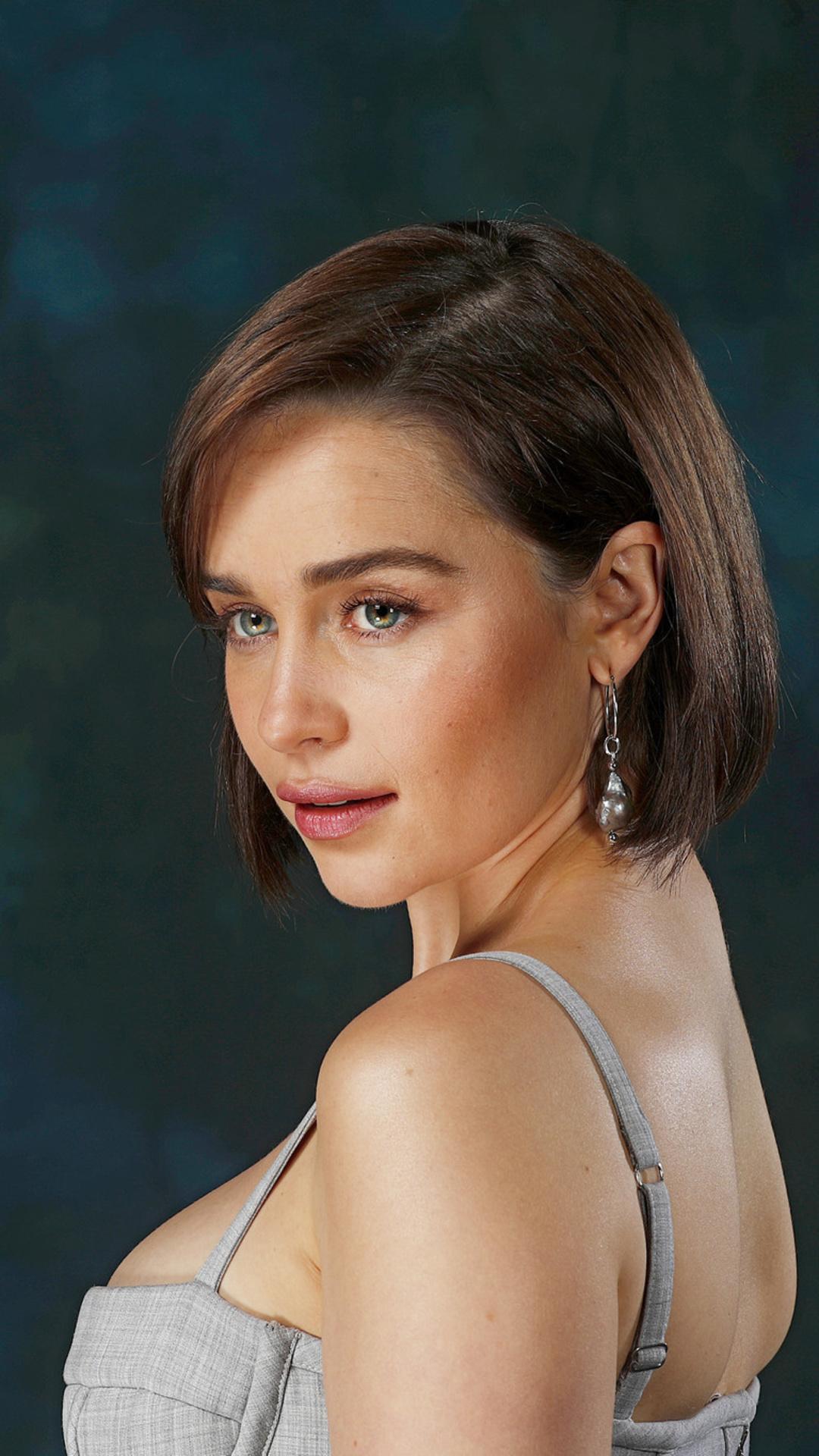 1080x1920 Emilia Clarke Short Hairs Iphone 7,6s,6 Plus ...
