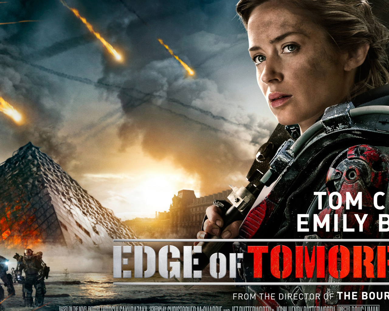 1280x1024 Emily Blunt In Edge Of Tomorrow 1280x1024 Resolution Hd