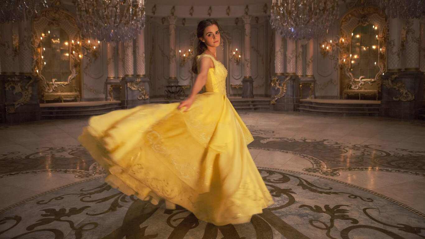 Download Beauty And Beast: 1366x768 Emma Watson In Beauty And The Beast 1366x768