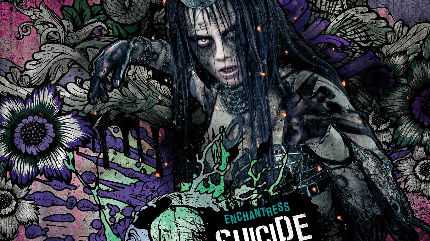 1366x768 Enchantress In Suicide Squad 1366x768 Resolution Hd