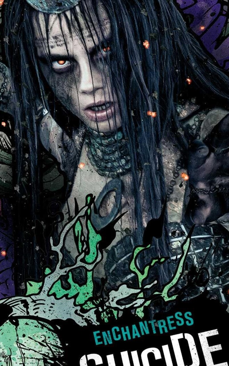Enchantress And Naruto Suicide Squad - #GolfClub