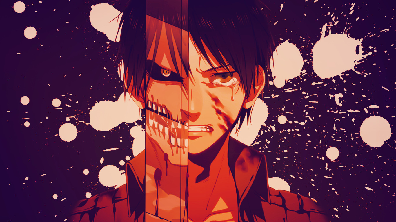 Eren Jeager Anime Wide