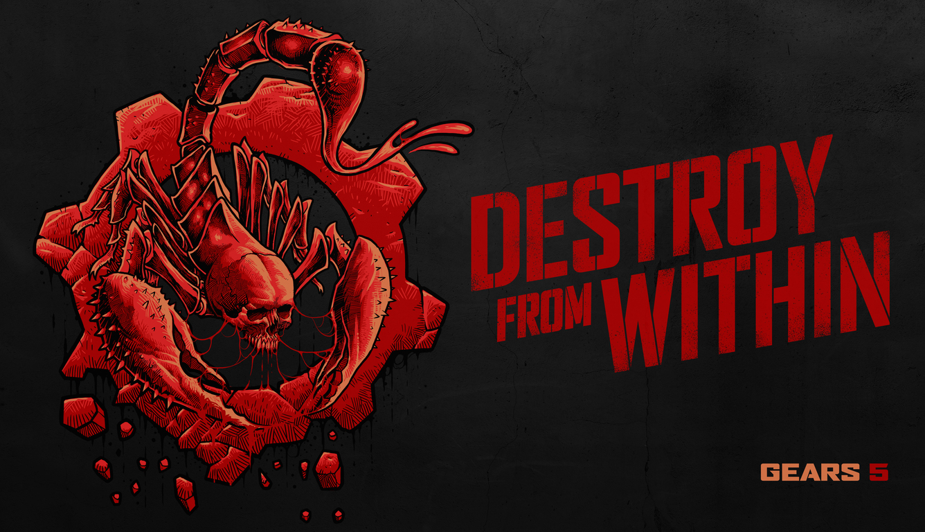 1336x768 Escape Destroy From Within Gears 5 4k Laptop Hd Hd 4k Wallpapers Images Backgrounds Photos And Pictures