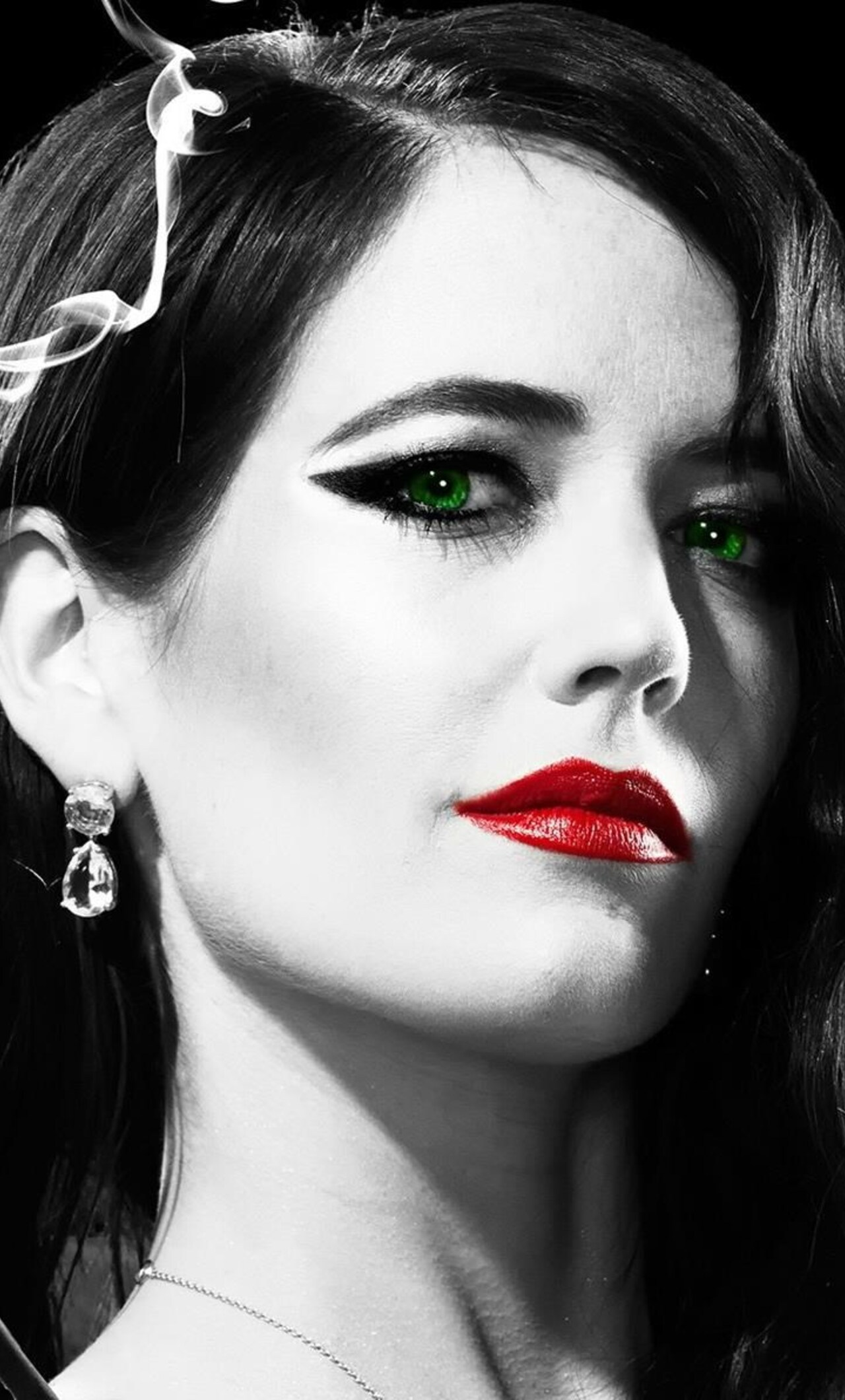 1280x2120 eva green in sin city movie iphone 6+ hd 4k wallpapers