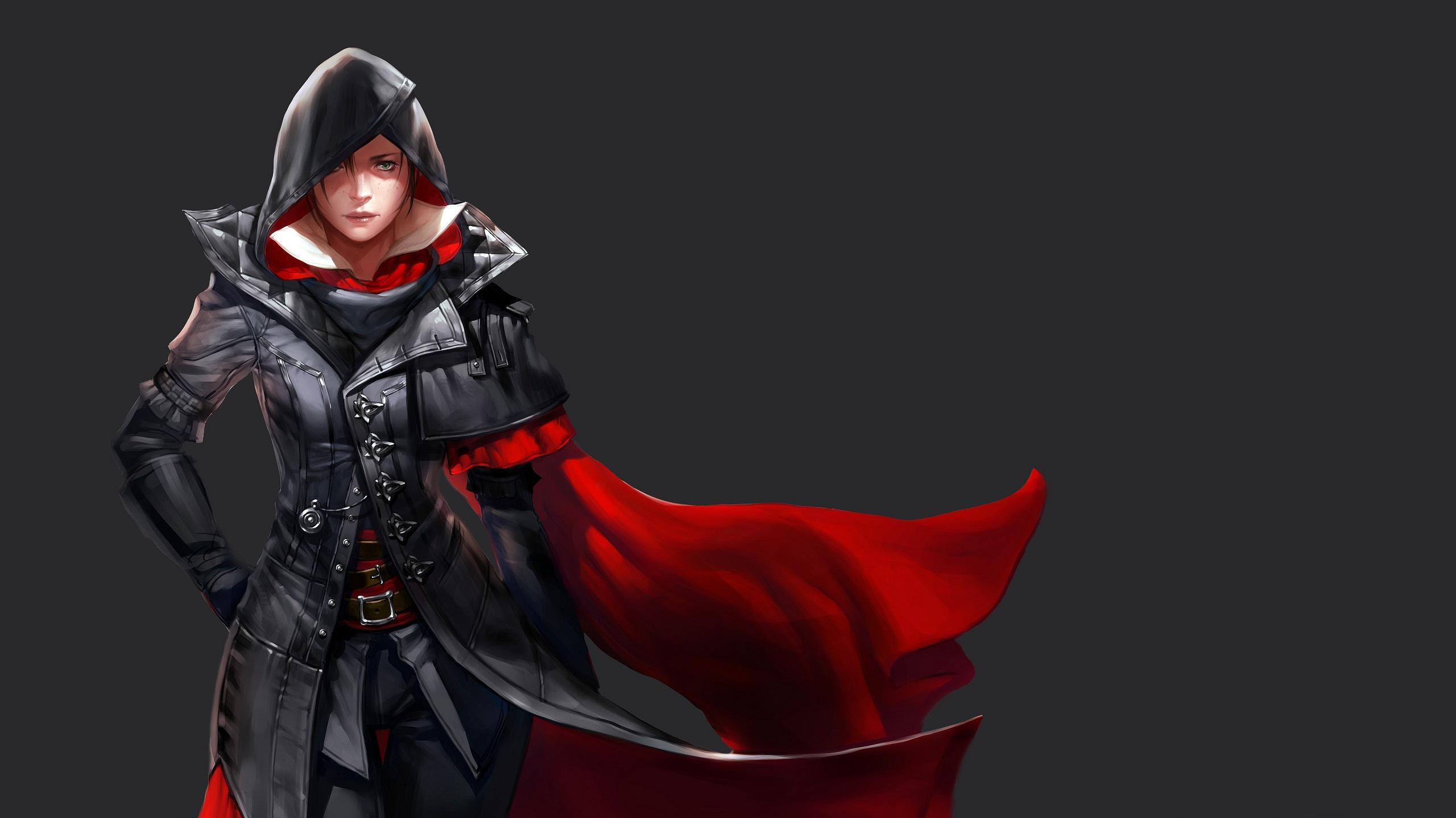 Assassin девушка обрез загрузить