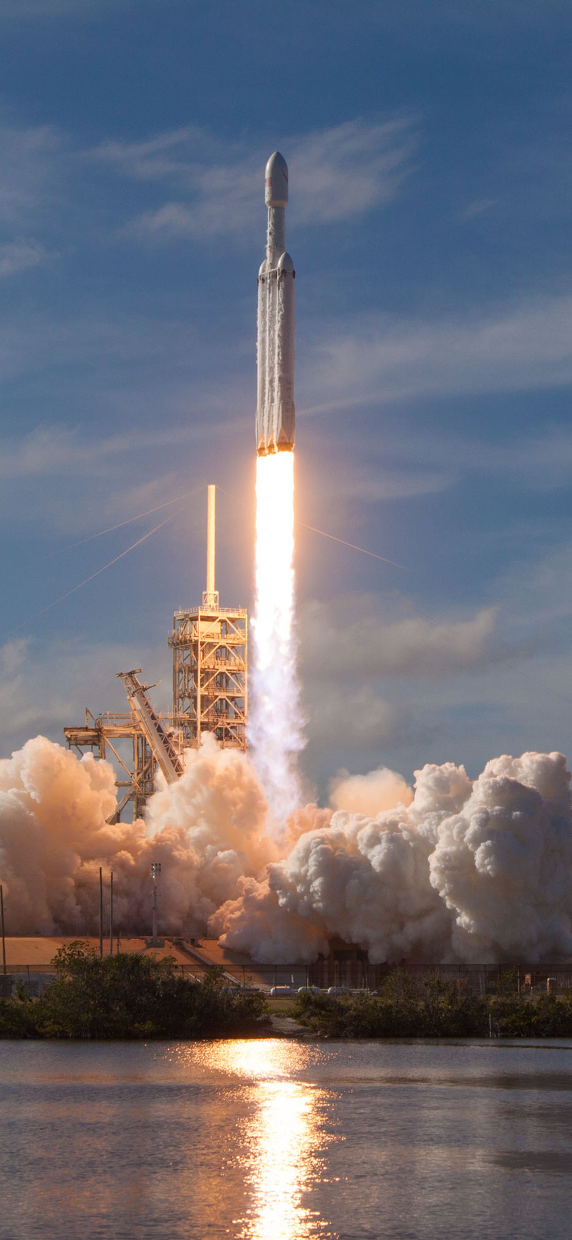 Falcon Heavy Space X Launch 8b