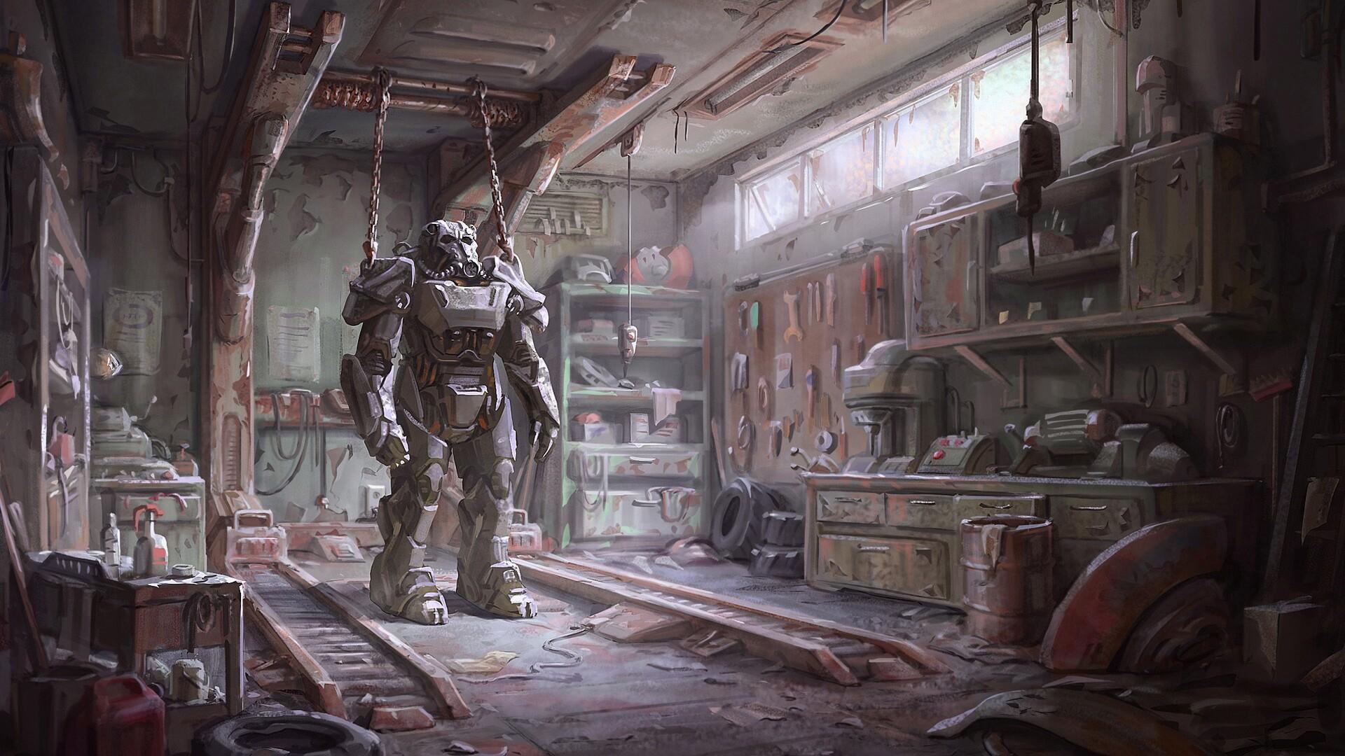 1920x1080 Fallout 4 Armour Laptop Full HD 1080P HD 4k ...