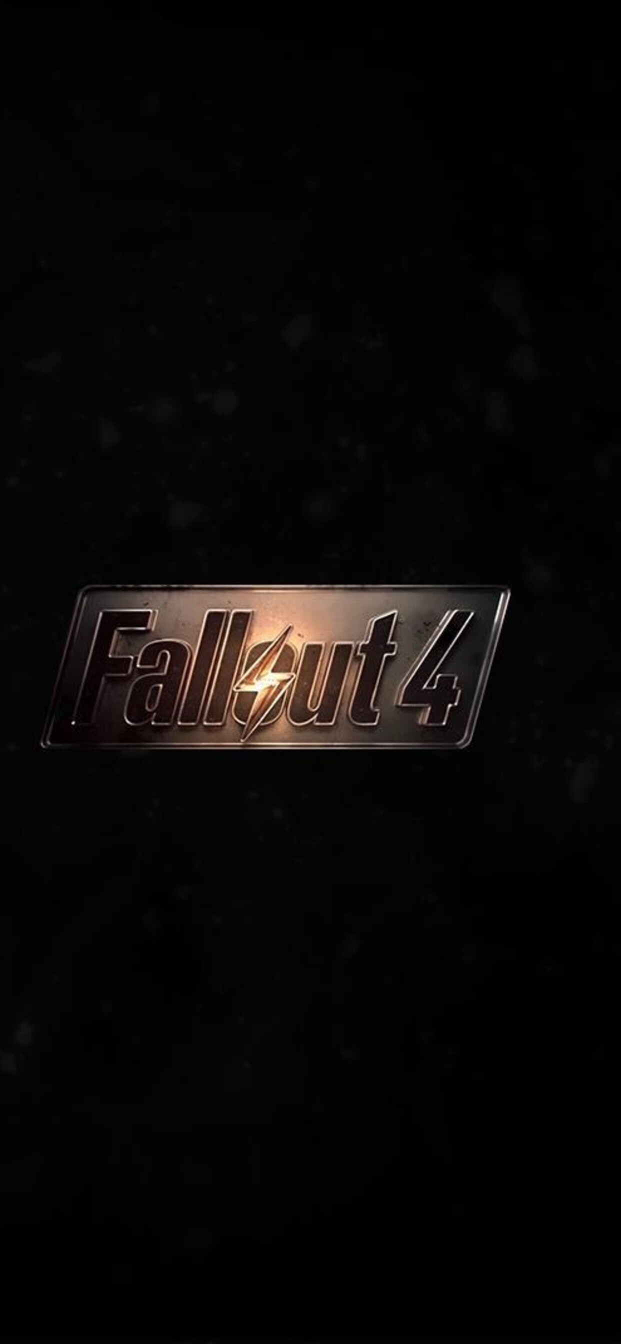 1242x2688 Fallout 4 Game Logo Iphone Xs Max Hd 4k Wallpapers