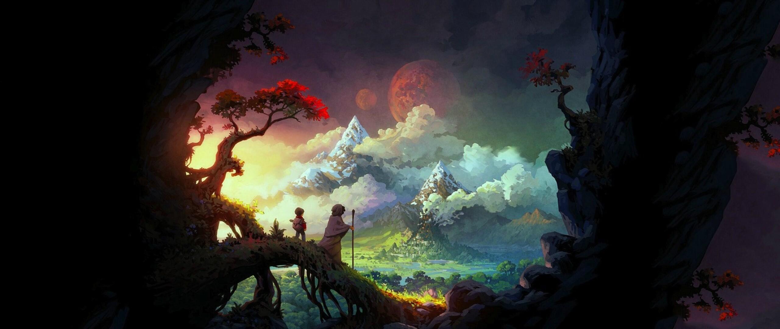 2560x1080 Final Fantasy Xv Artwork 2560x1080 Resolution Hd: 2560x1080 Fantasy Art Colorful 2560x1080 Resolution HD 4k